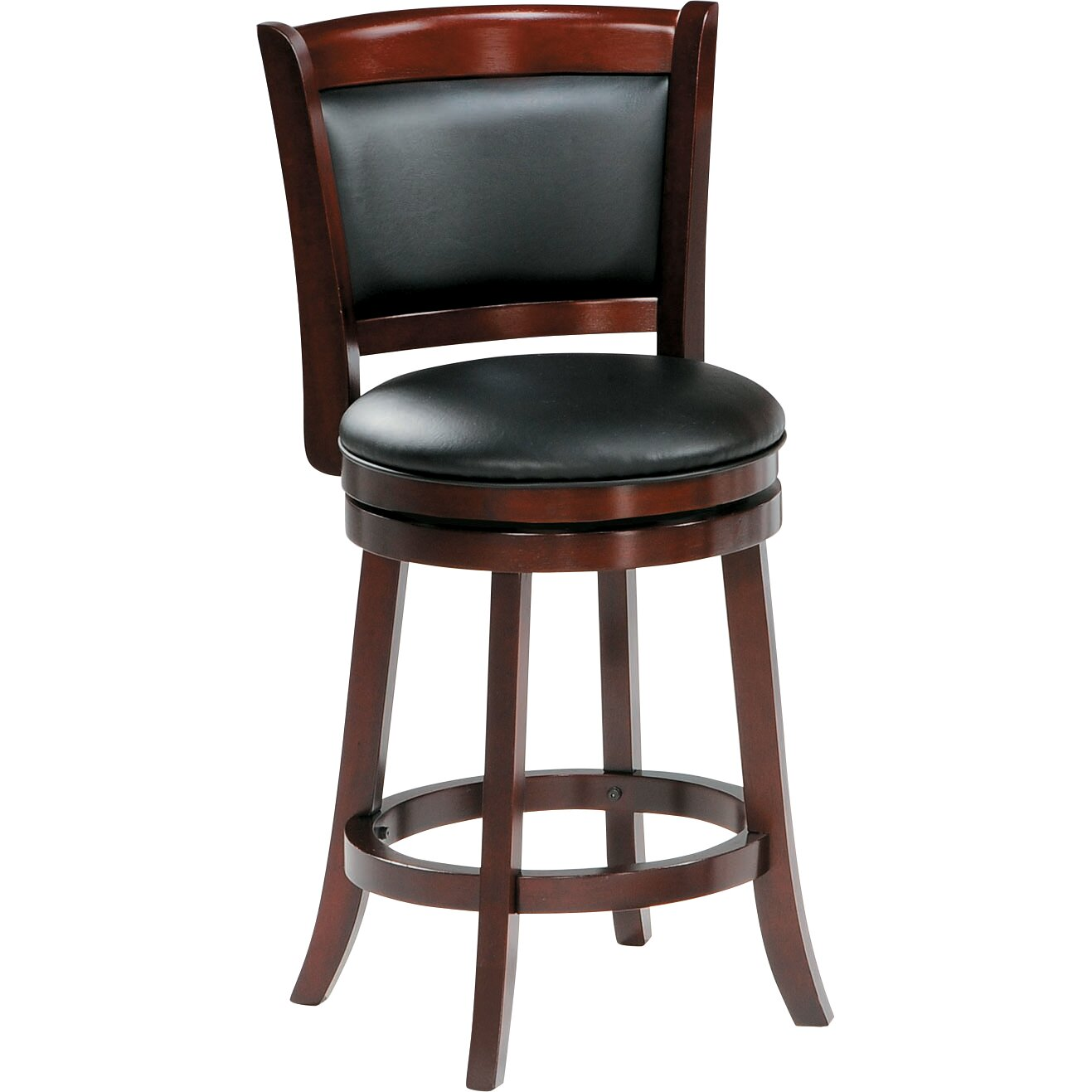 Woodhaven hill 24 swivel bar stool reviews wayfair for 24 bar stools