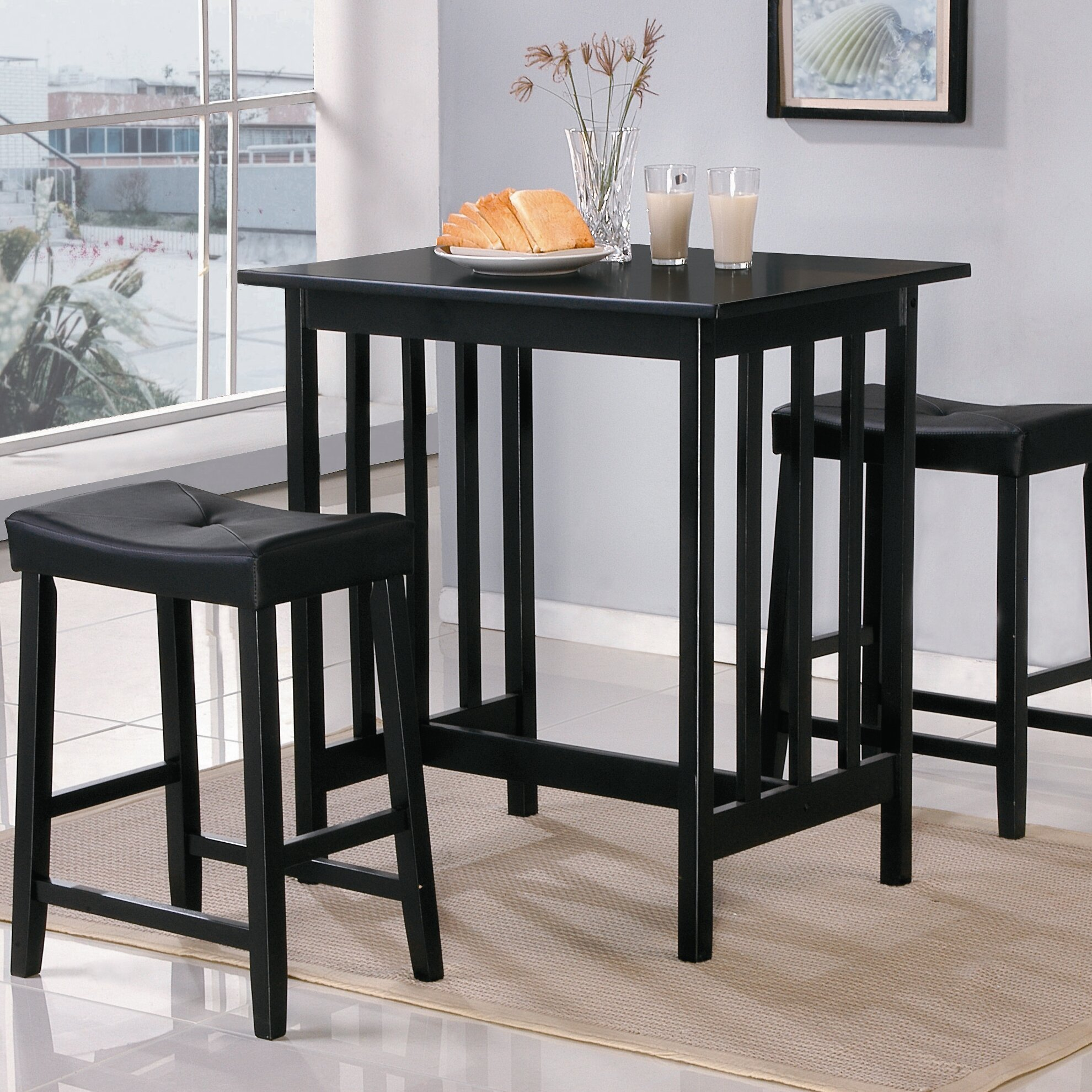 Woodhaven hill scottsdale 3 piece dining set reviews for 3 piece dining room