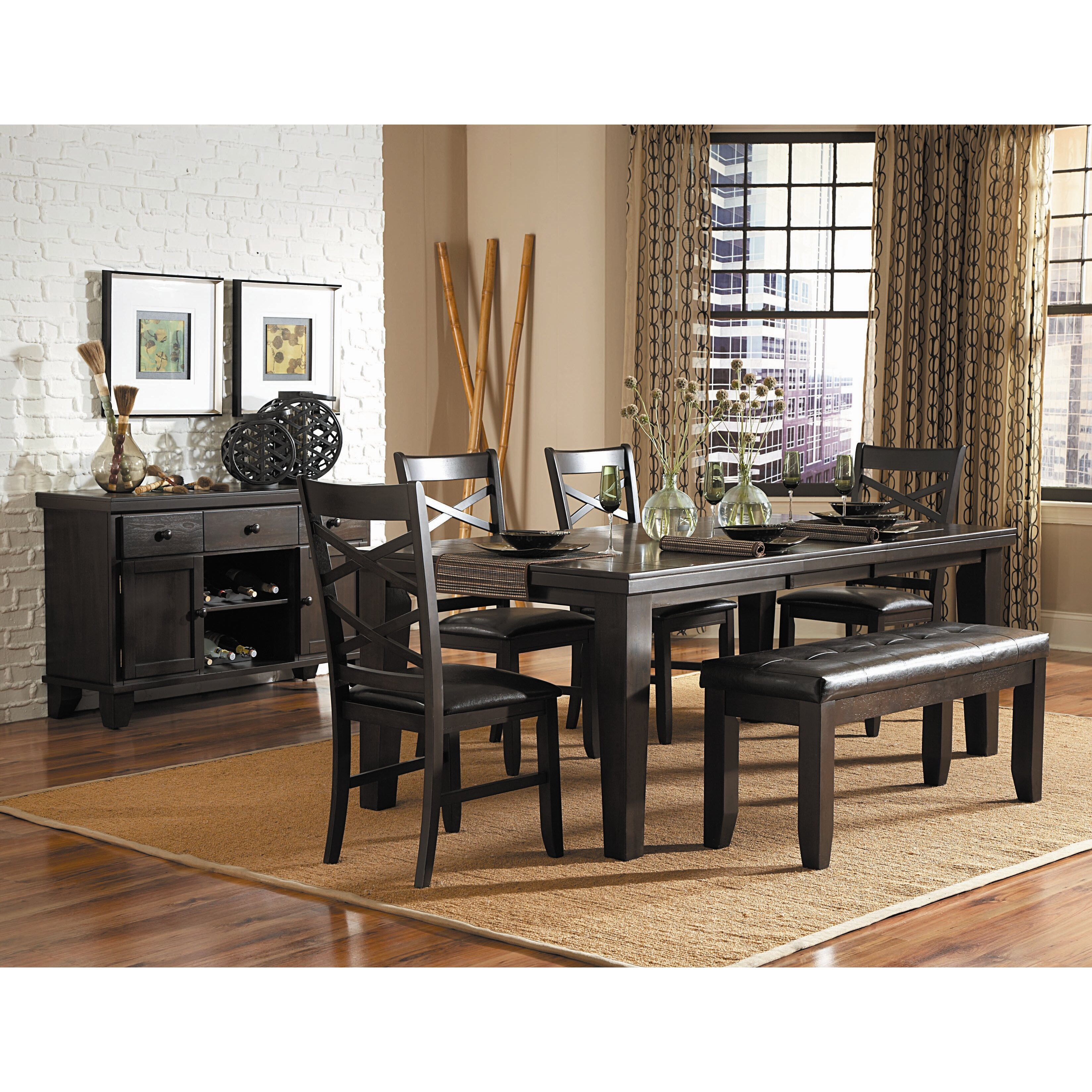 Woodhaven Living Room Furniture Woodhaven Hill Hawn 6 Piece Dining Set Reviews Wayfair