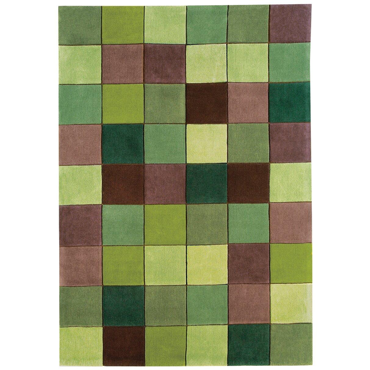 Asiatic Carpets Ltd Handgetufteter Teppich Eden in Grün