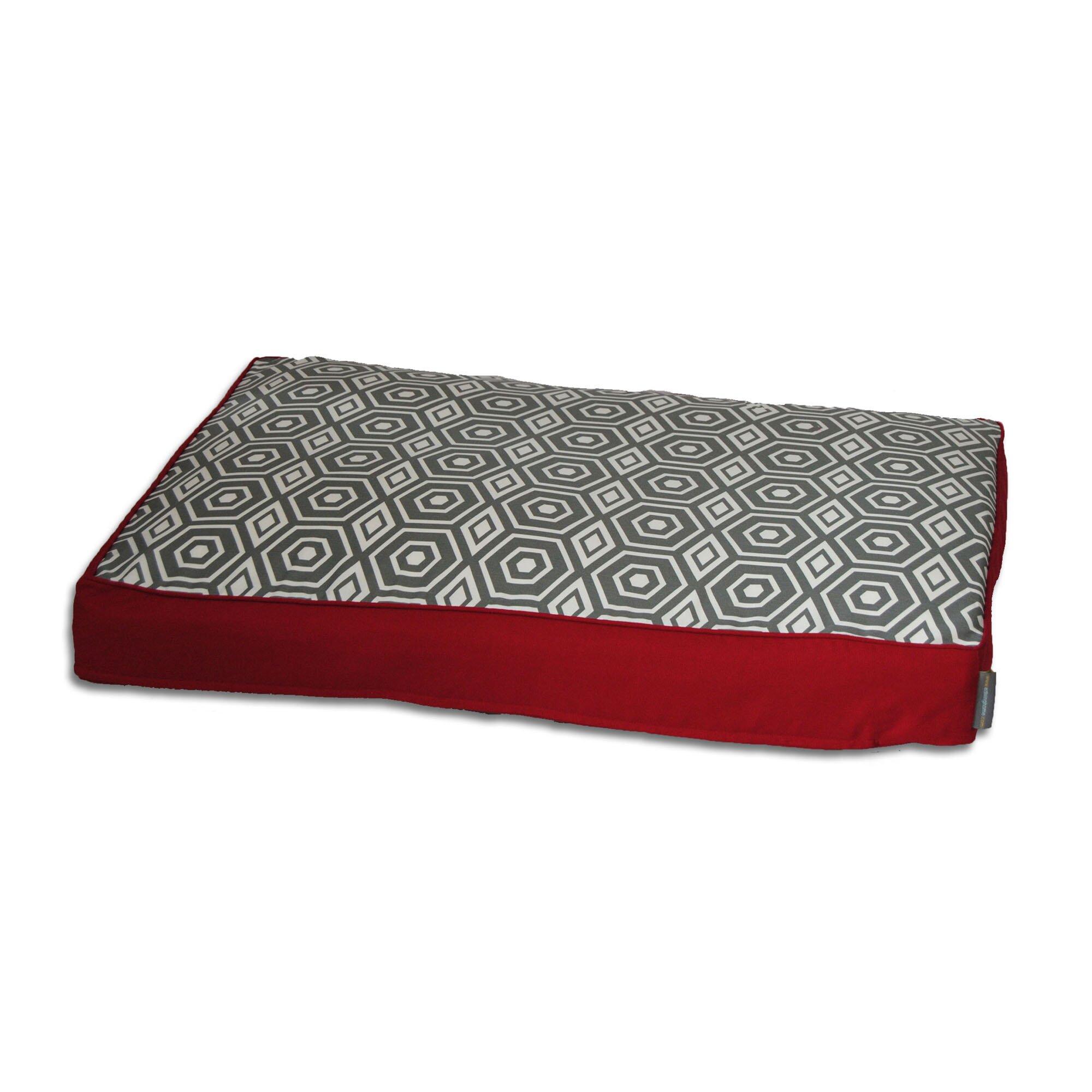 EZ Living Home Honeycomb Memory Foam Topper Pet Pillow Bed Wayfair