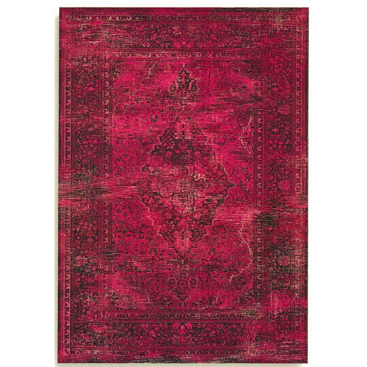 Barefoot Artsilk Rugs Persian Antika Pink Area Rug