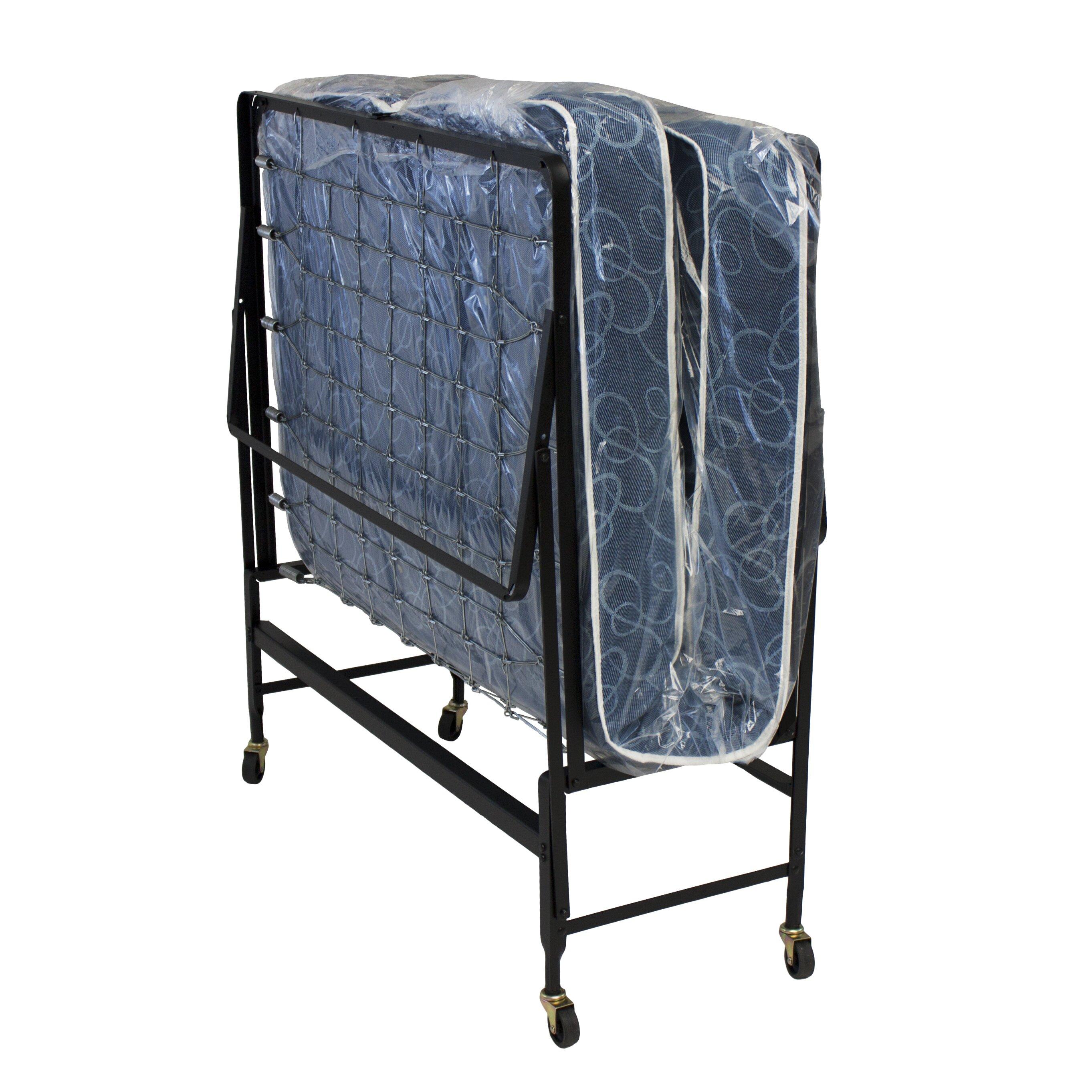 Folding Beds Reviews : Hollywood bed frame serta folding reviews wayfair