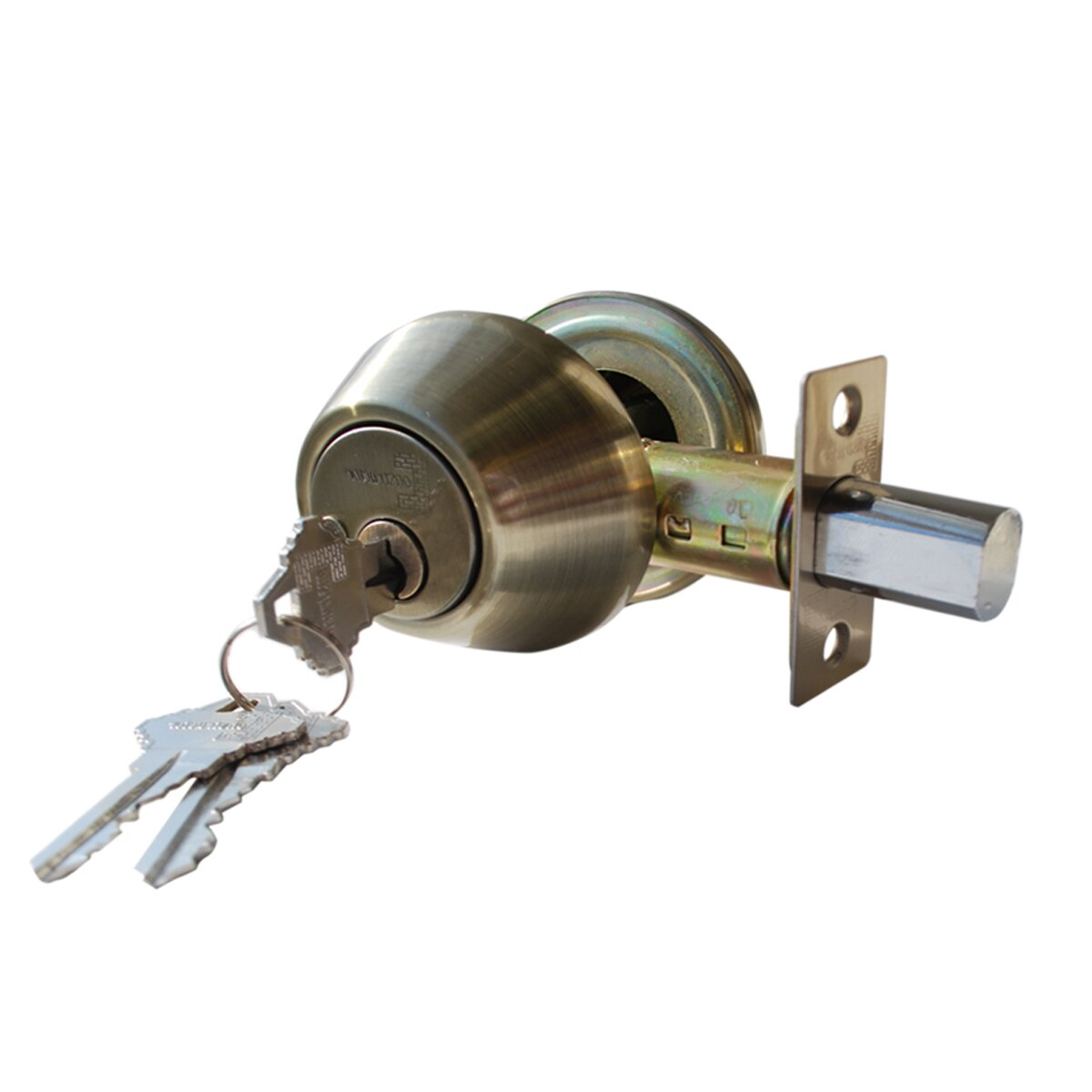 how to change a lock cylinder deadbolt