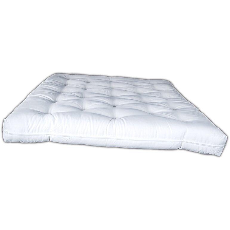 "Bio Sleep Concept De Luxe Cotton 6"" Foam Core Couch Futon"