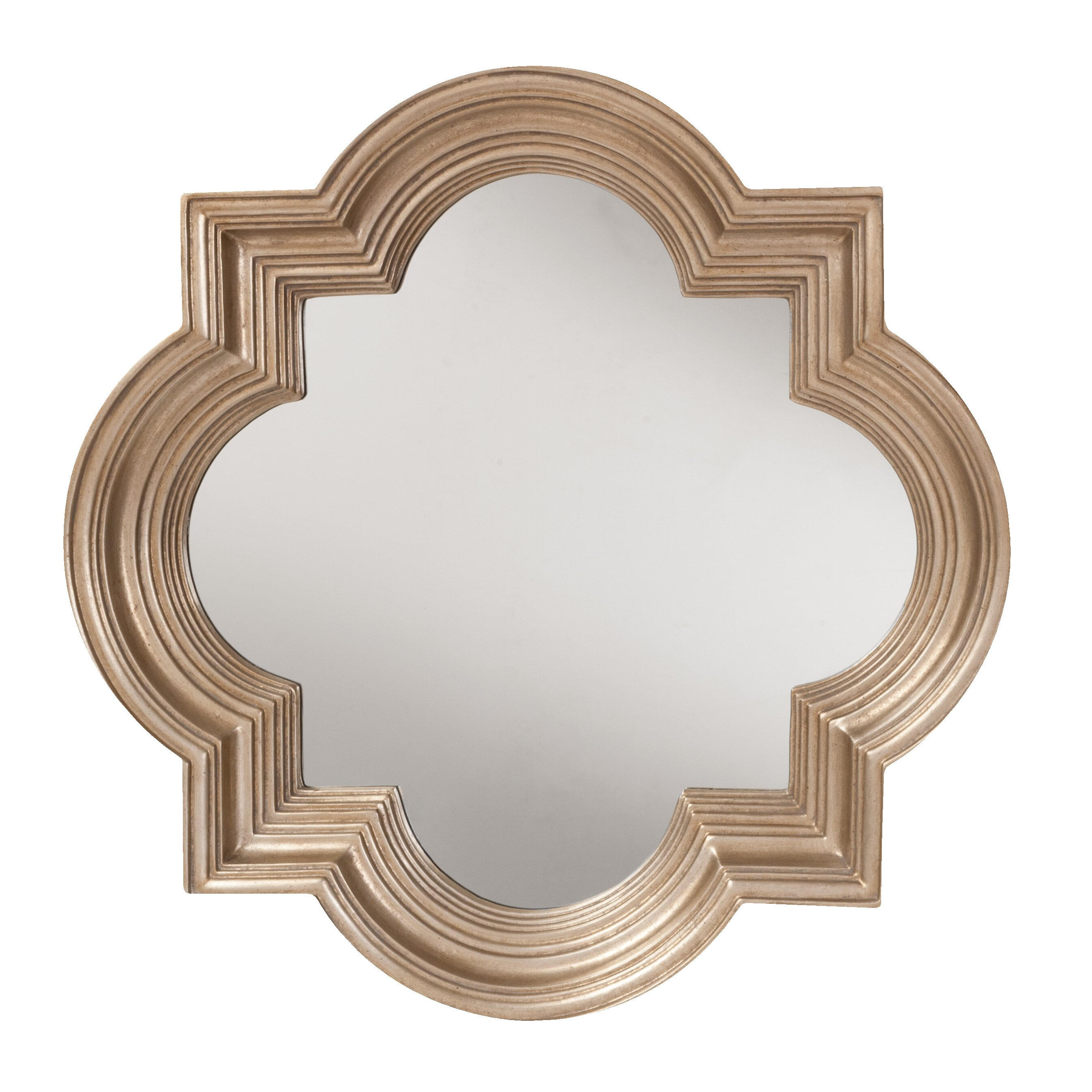 Osp designs gatsby decorative beveled wall mirror for Fancy mirror