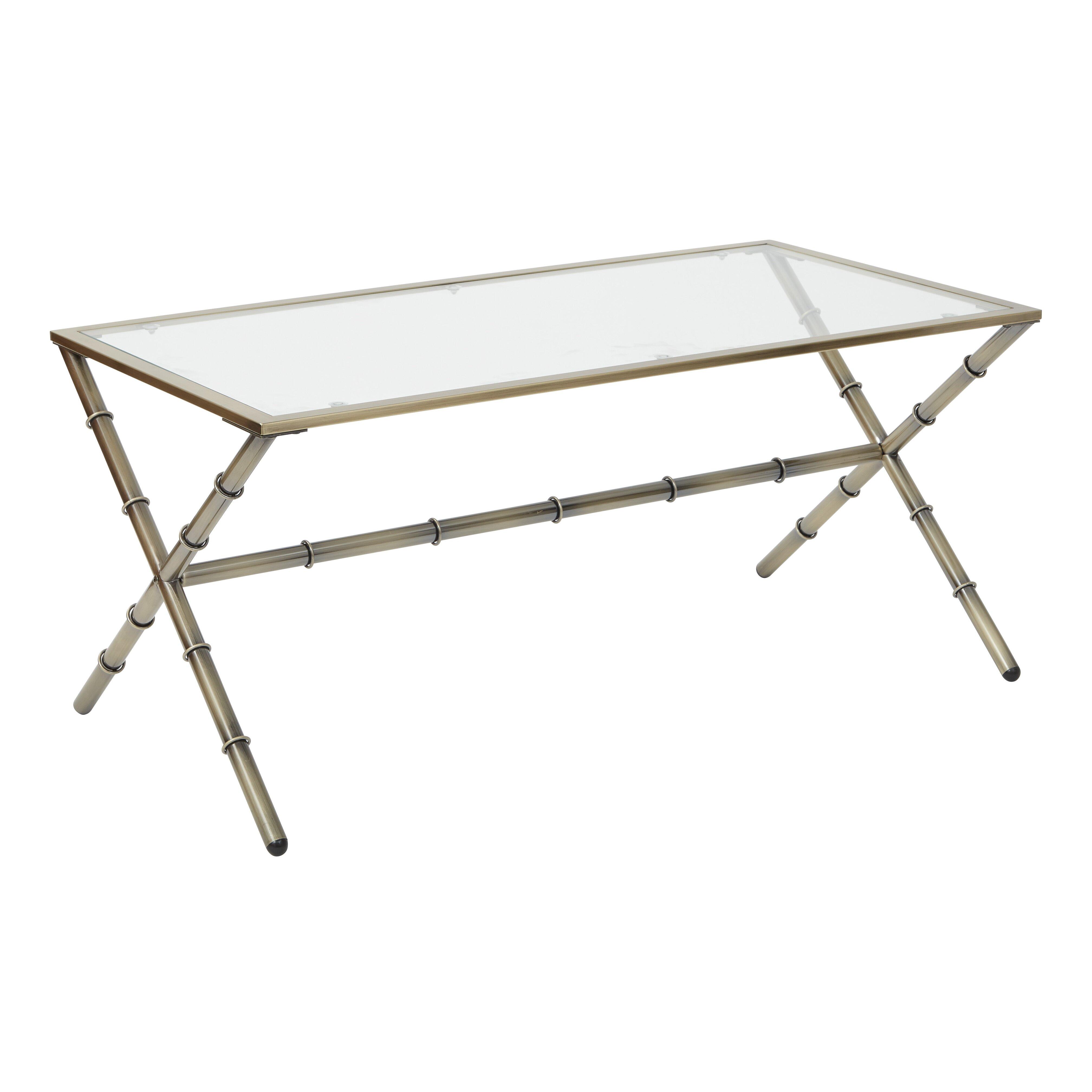 Brass Coffee Table Target: OSP Designs Lanai Coffee Table & Reviews