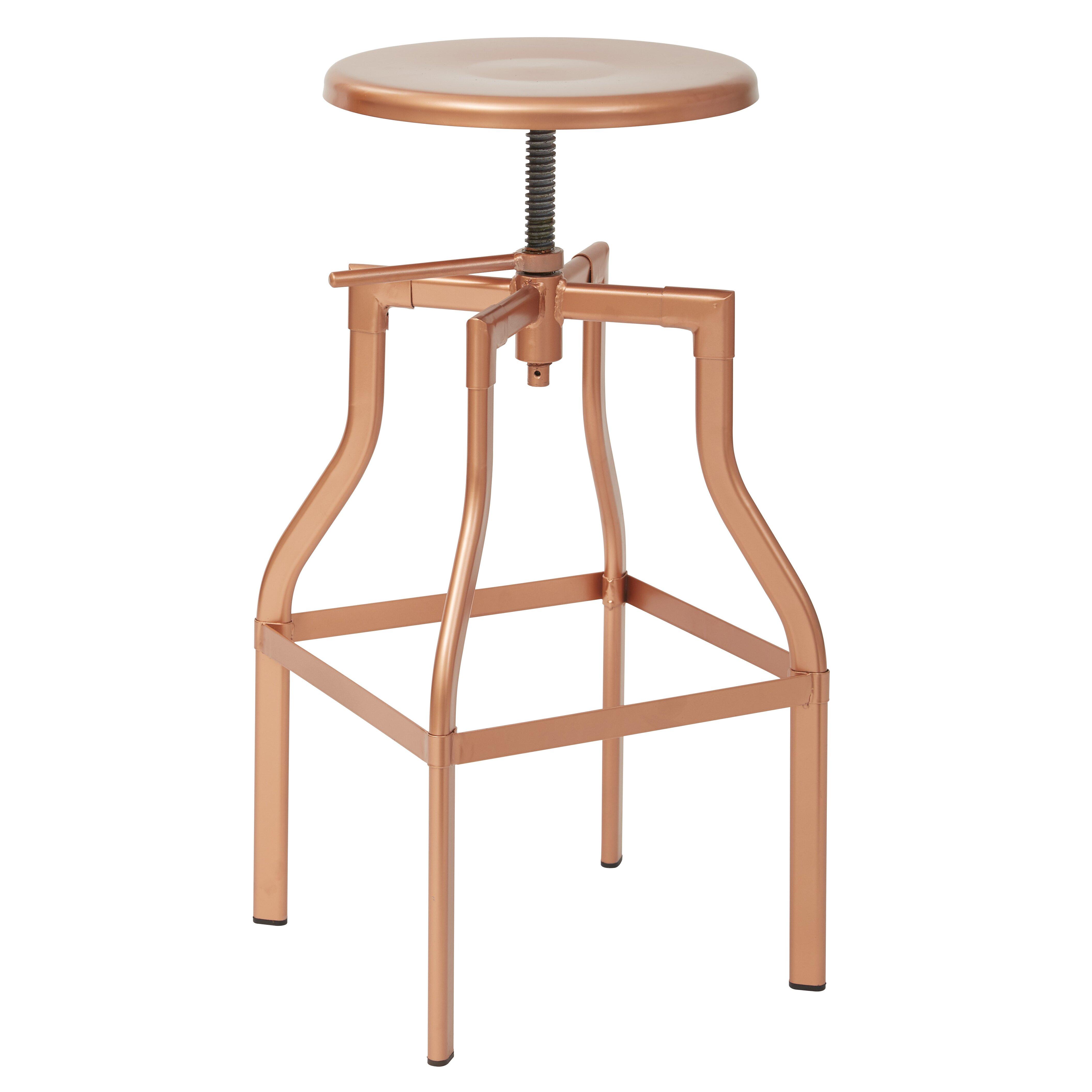 Osp Designs Eastvale Adjustable Height Swivel Bar Stool