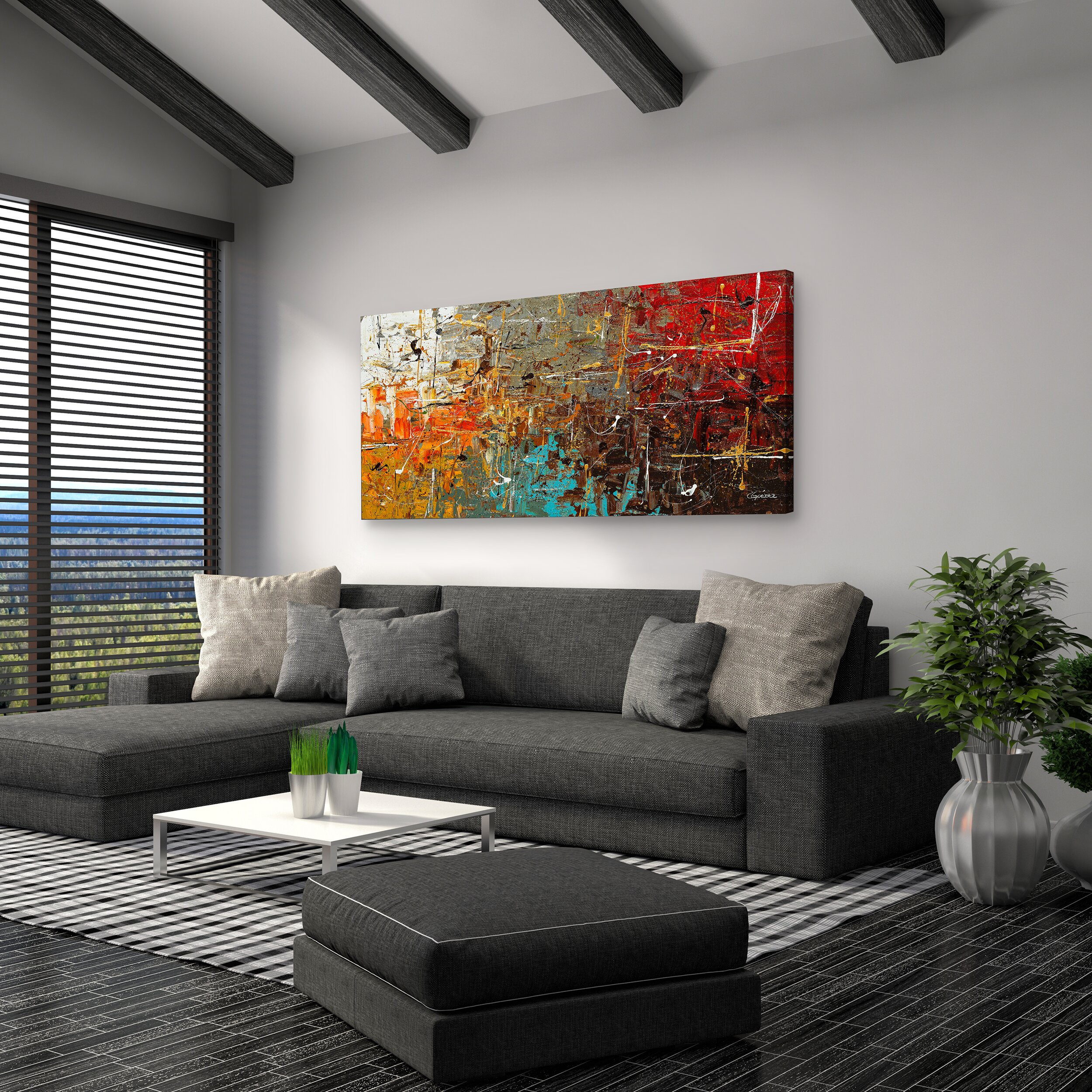 artefx decor safe and sound by carmen guedez painting. Black Bedroom Furniture Sets. Home Design Ideas