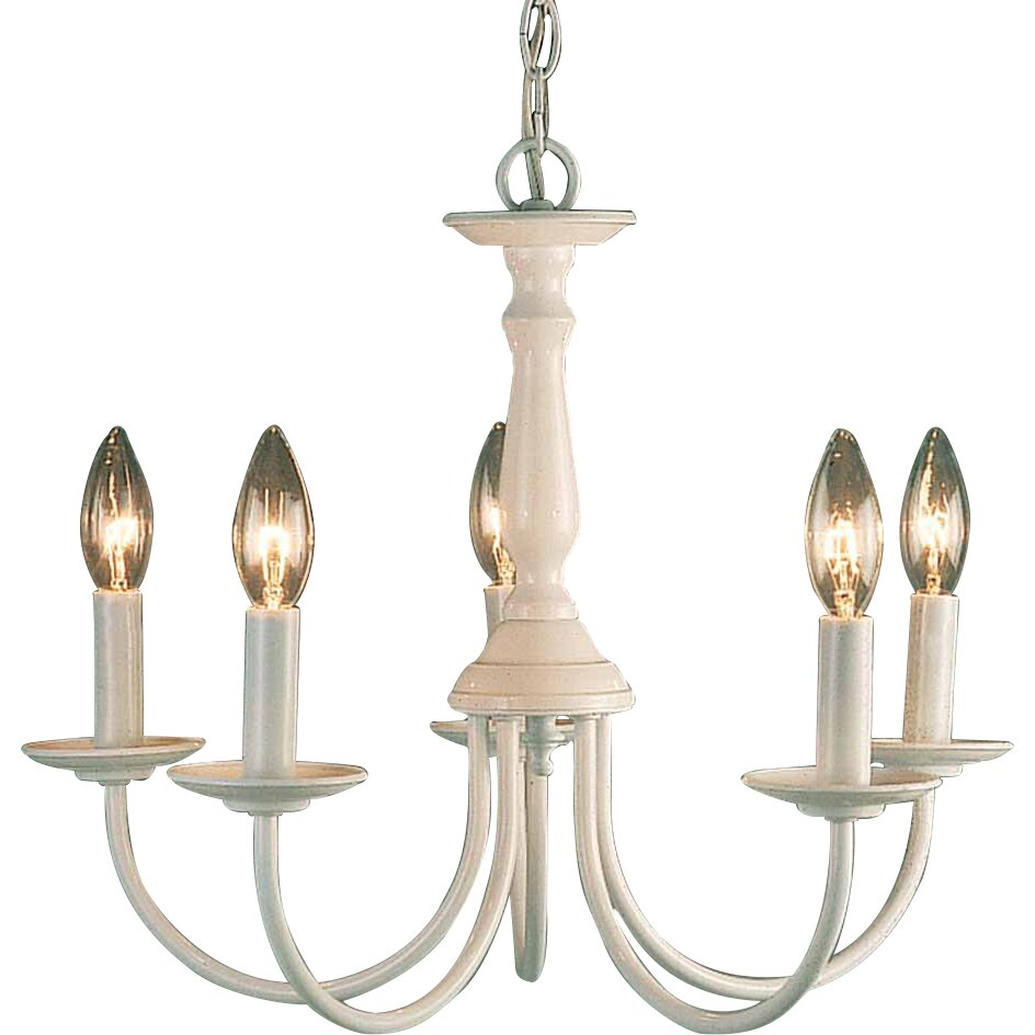 Volume lighting 5 light candle chandelier reviews wayfair - Lights and chandeliers ...