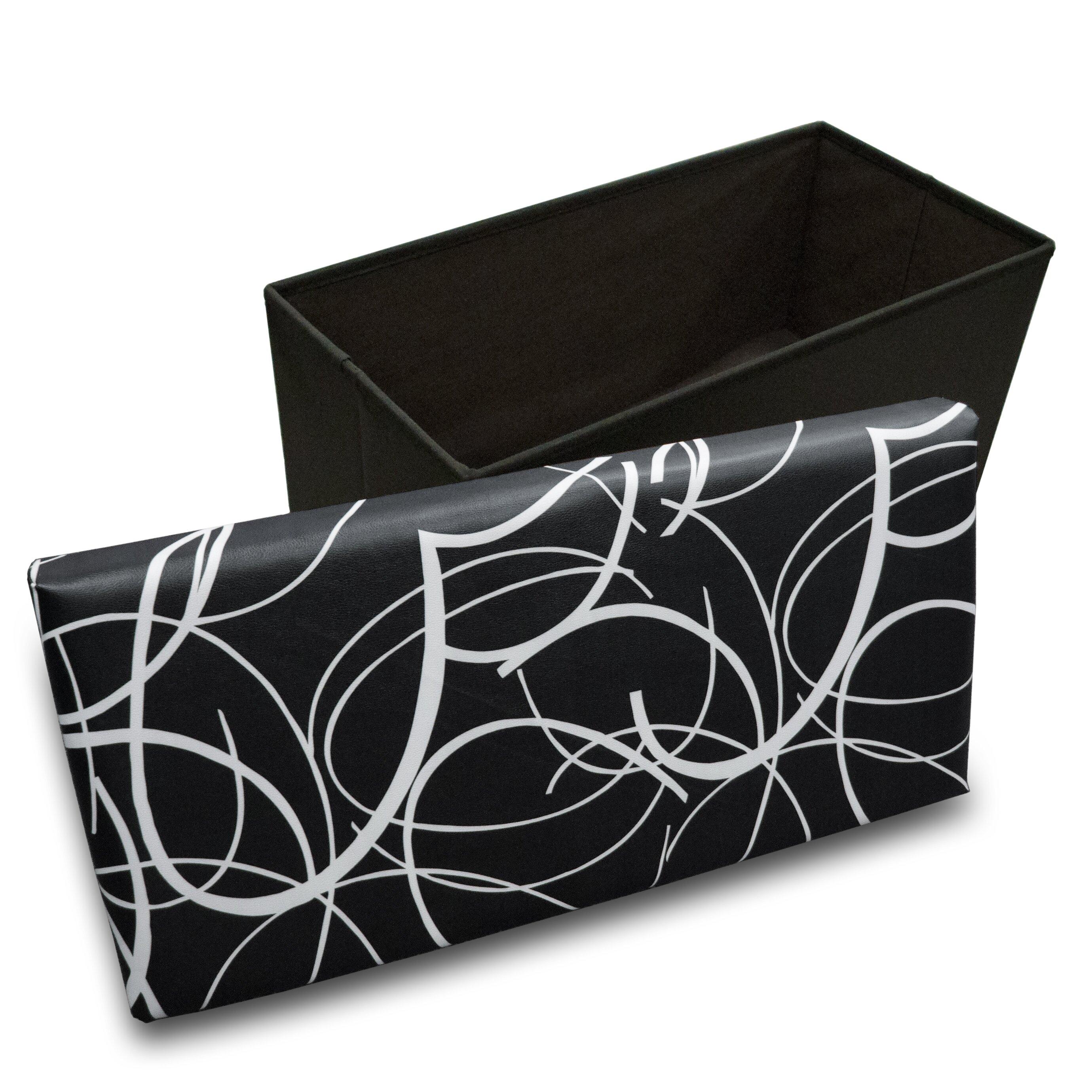 Best Price Quality Memory Foam Foldable Ottoman Wayfair