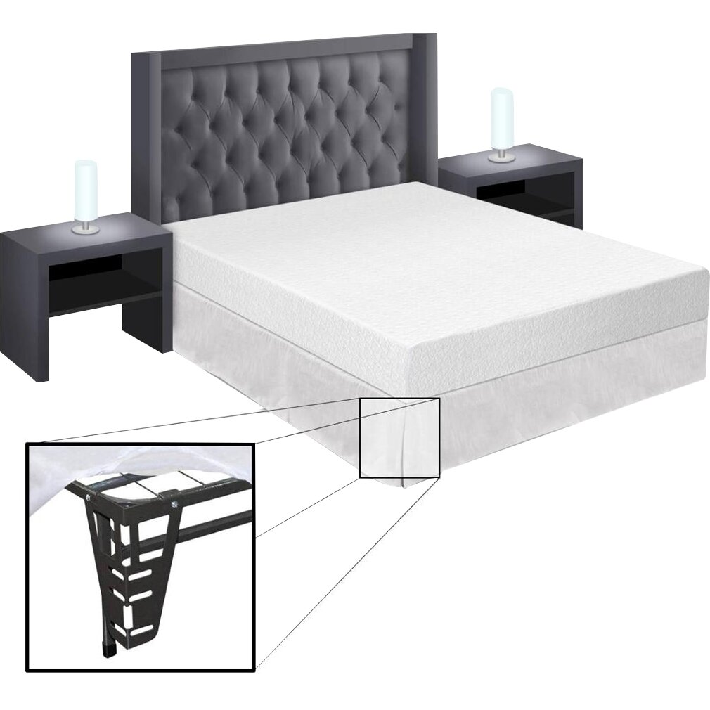 Best Price Quality Best Price Quality 8 Memory Foam Mattress And Bed Frame Set Reviews Wayfair
