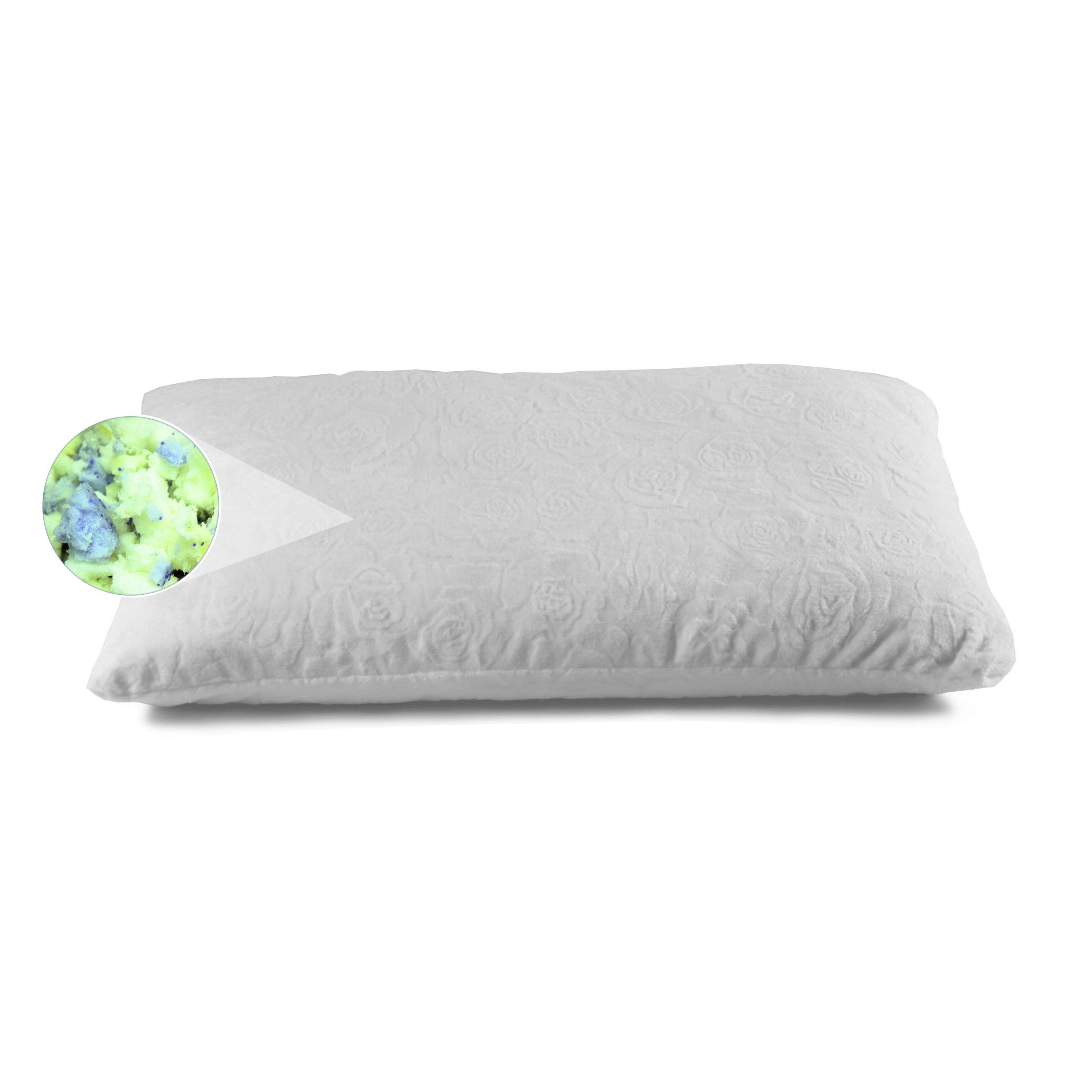 Brooklyn bedding ultimate dreams shredded gel memory foam for Bed pillows reviews