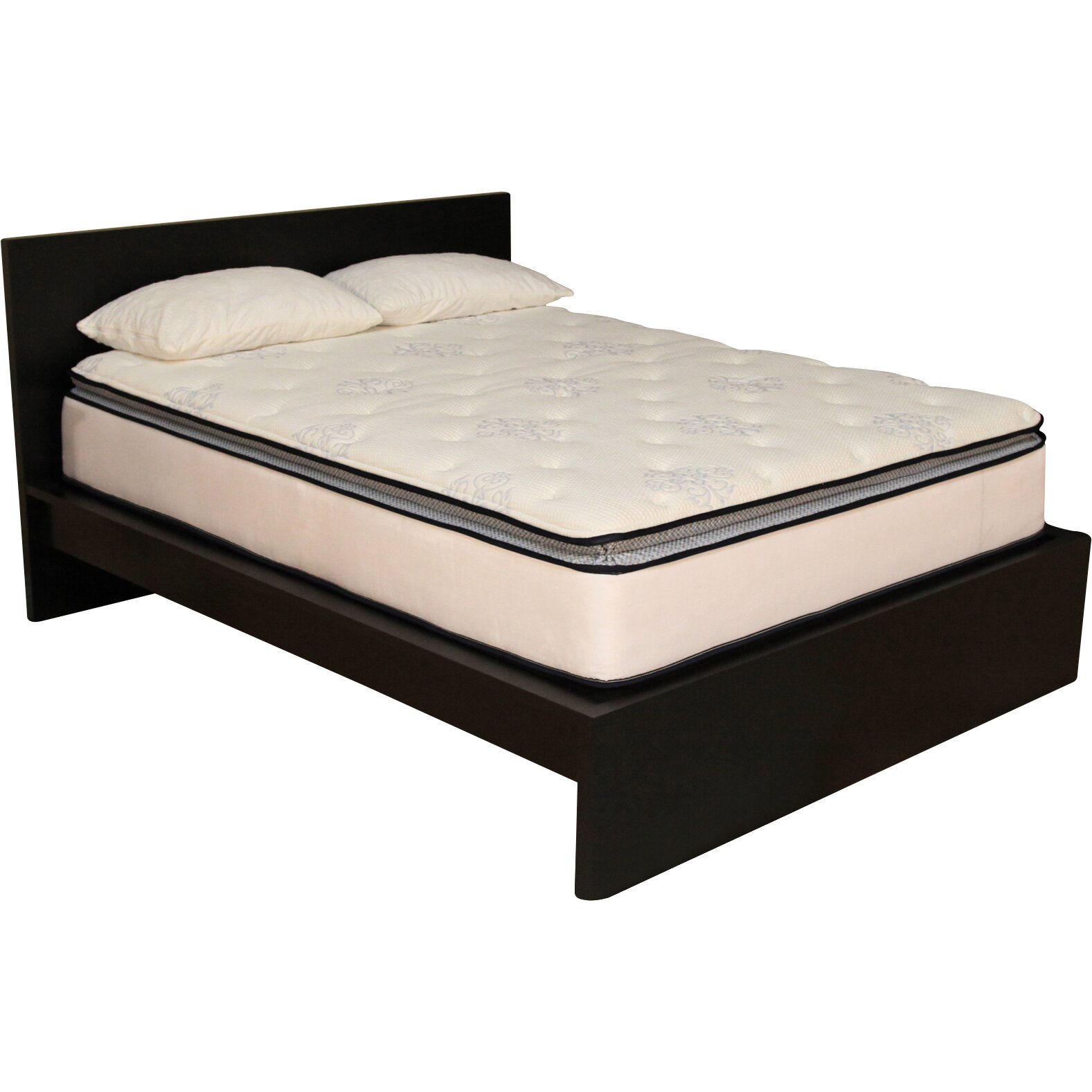 Brooklyn bedding ultimate dreams 12quot plush mattress for Brooklyn bedding ultimate dreams