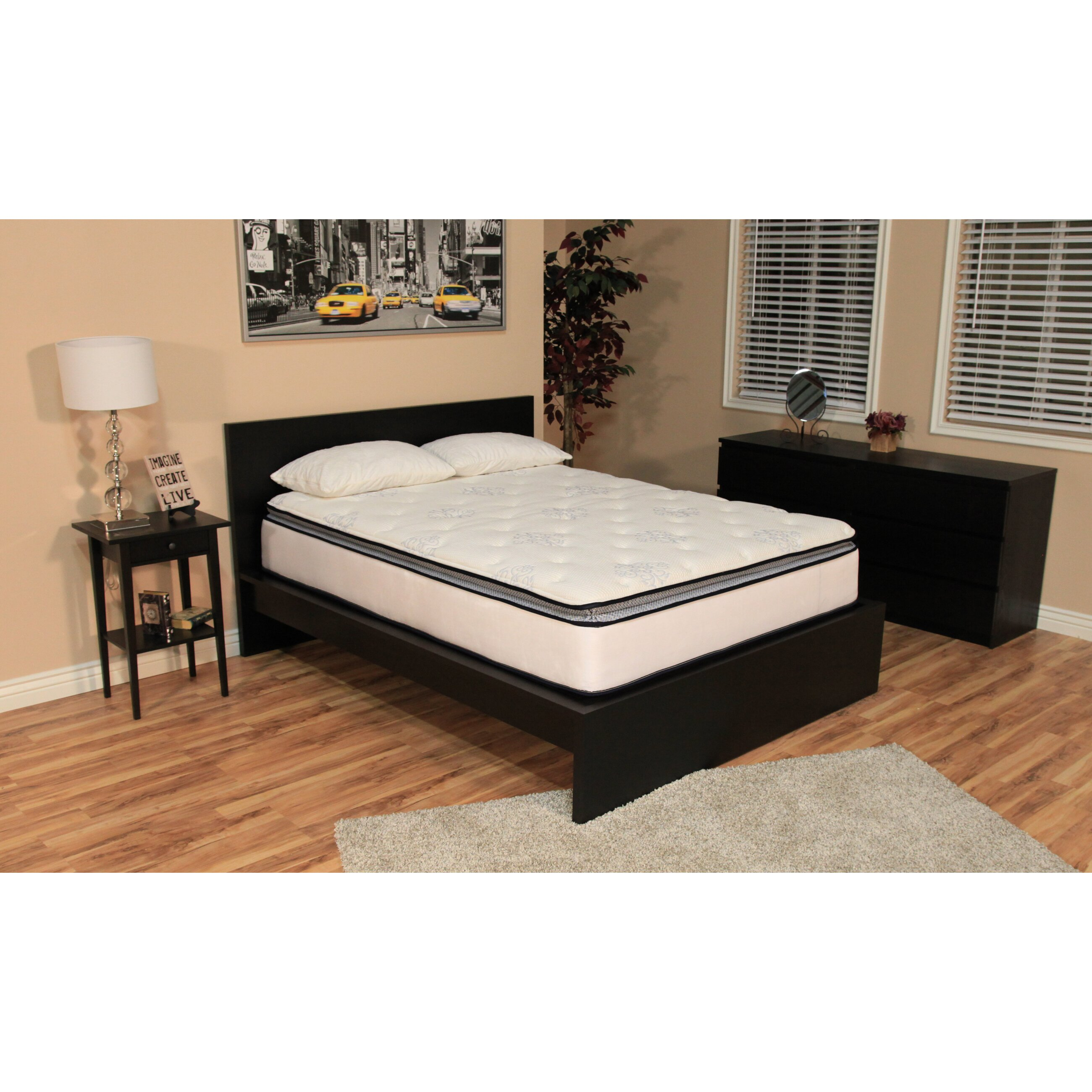 Brooklyn bedding ultimate dreams 12quot firm mattress for Brooklyn bedding sale