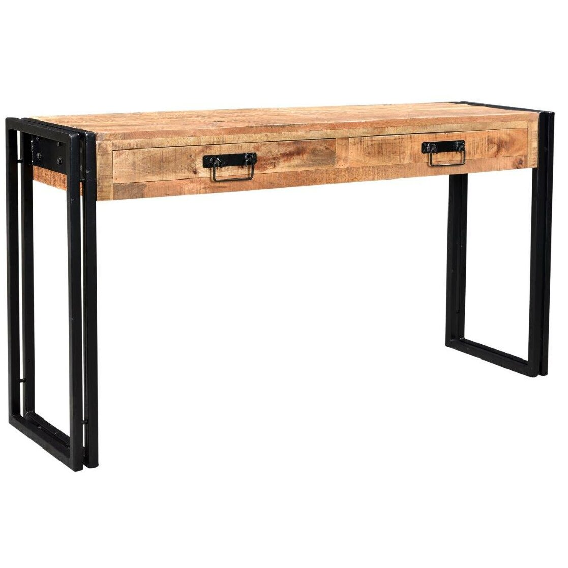Timbergirl Industrial Console Table Wayfair
