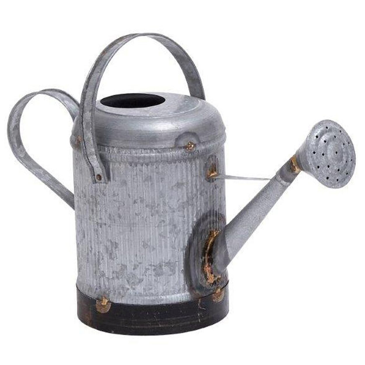 Ore furniture metal 1 gallon ridge water can reviews wayfair - Gallon metal watering can ...