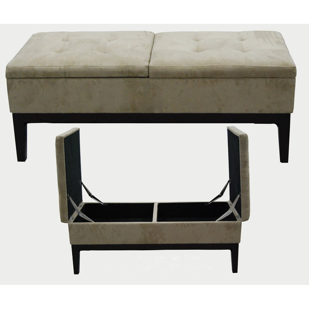 Ore furniture upholstered storage bench reviews wayfair Furniture benches