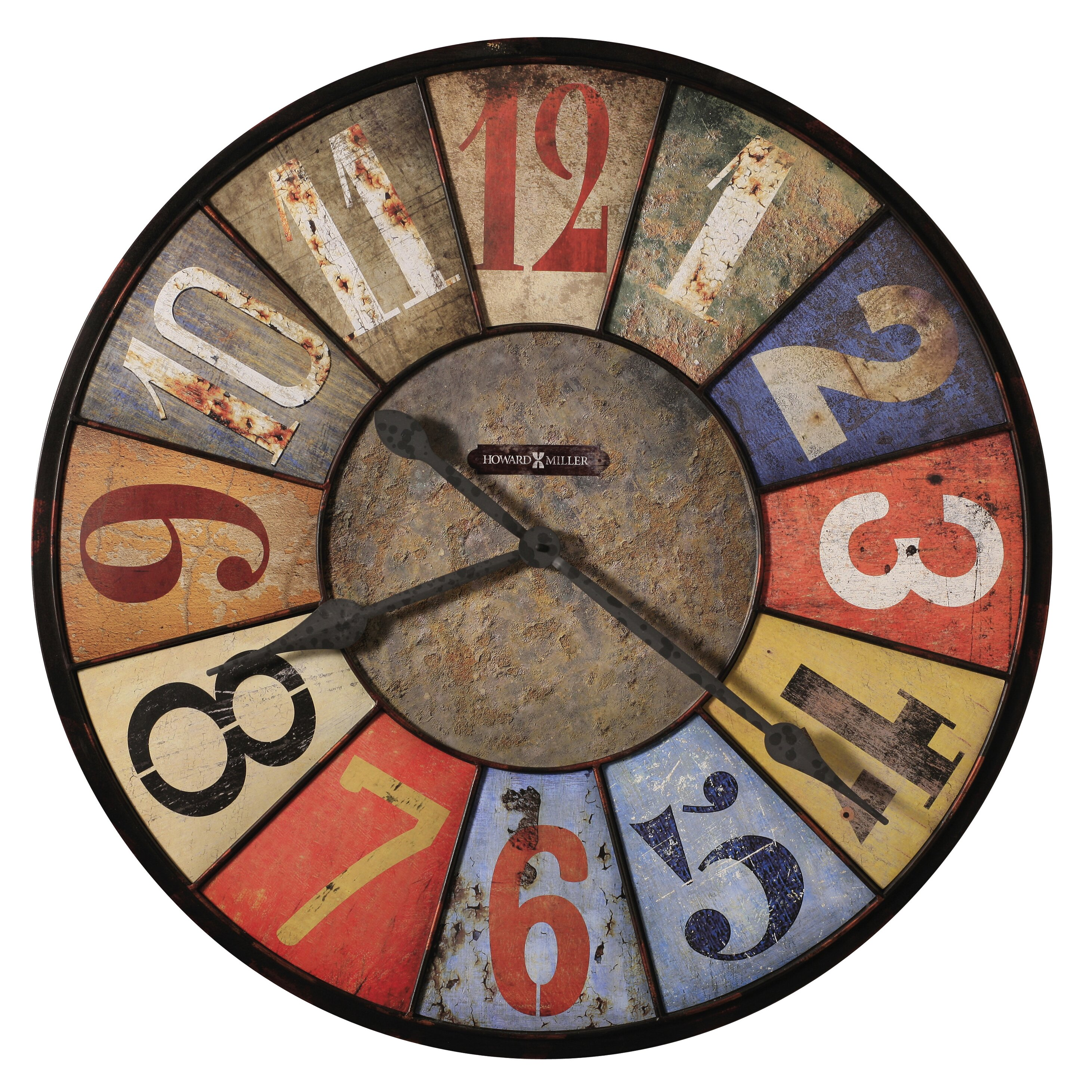 Howard miller oversized 3075quot county line wall clock for Howard miller large wall clock