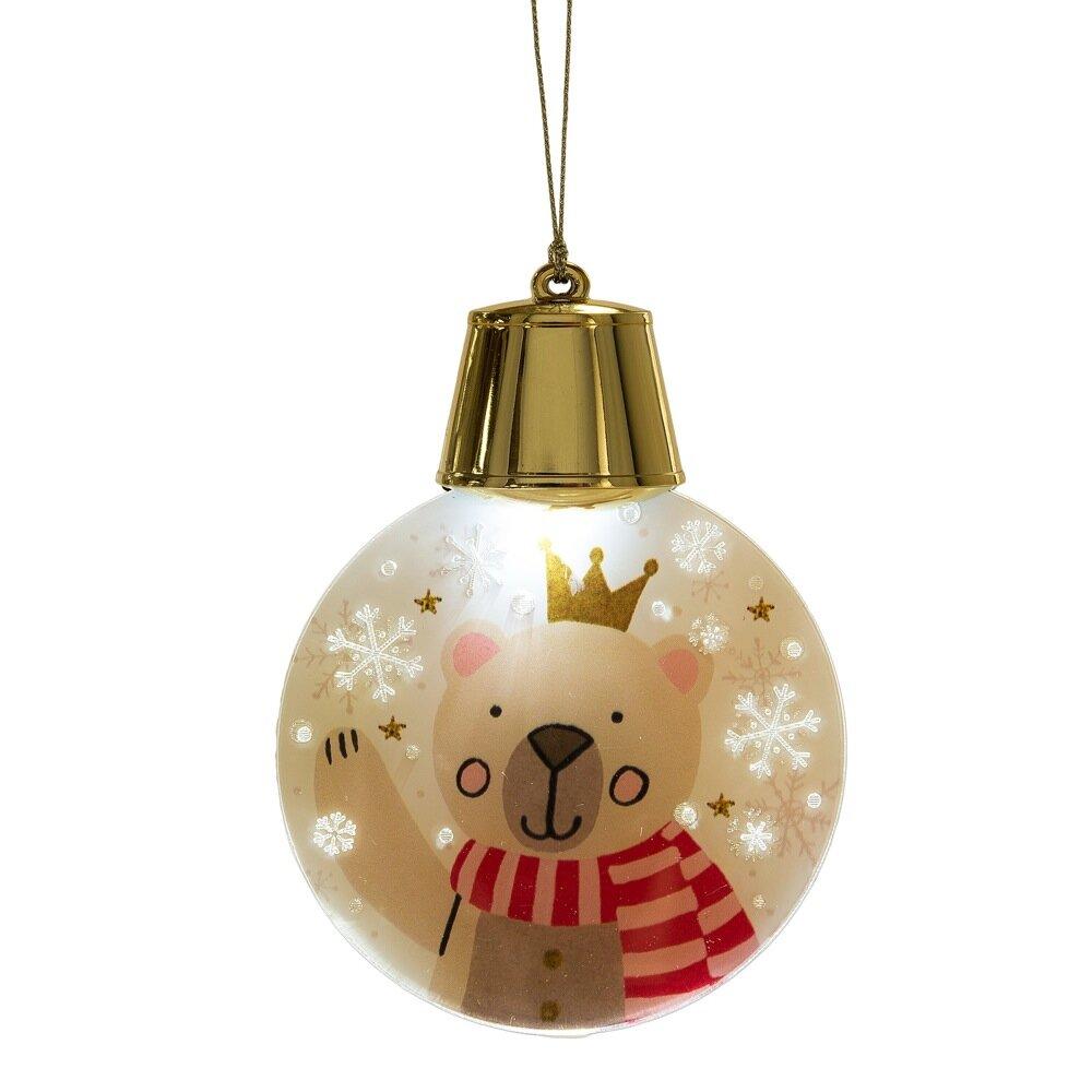 Midwest seasons wonderlights christmas led flashing bear