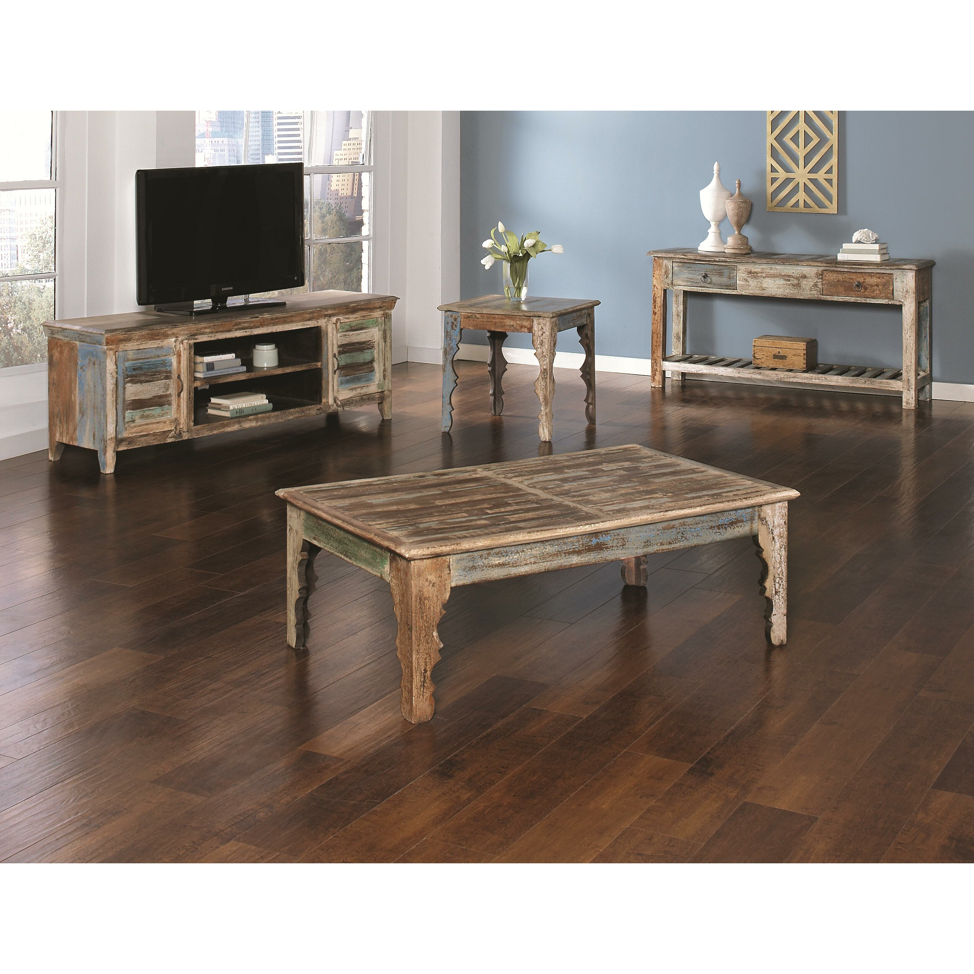 Bungalow Rose Roosa Living Room Collection Reviews: Bungalow Rose Khemisset Coffee Table Set & Reviews