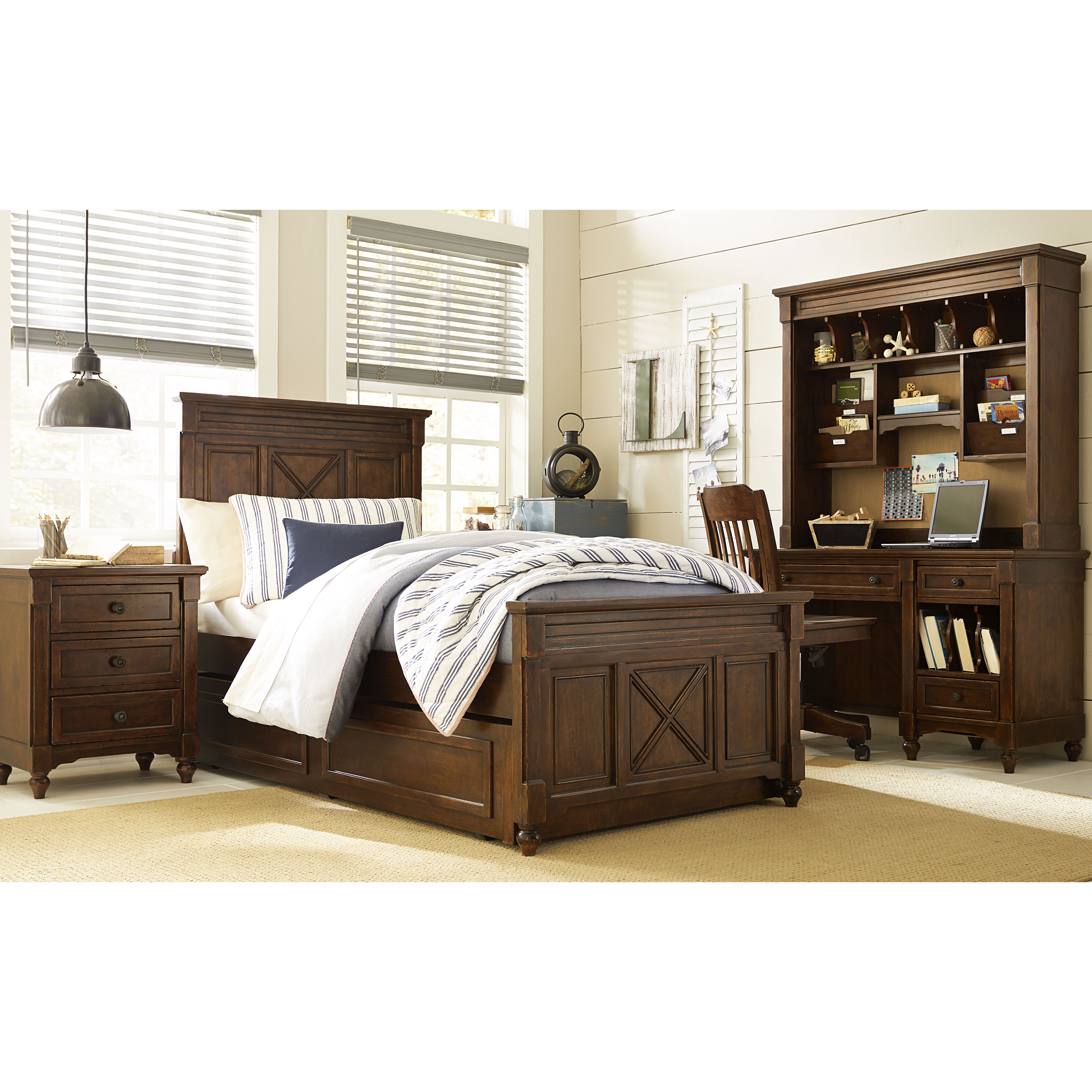 Lc kids big sur by wendy bellissimo twin panel for Large bedroom furniture sets