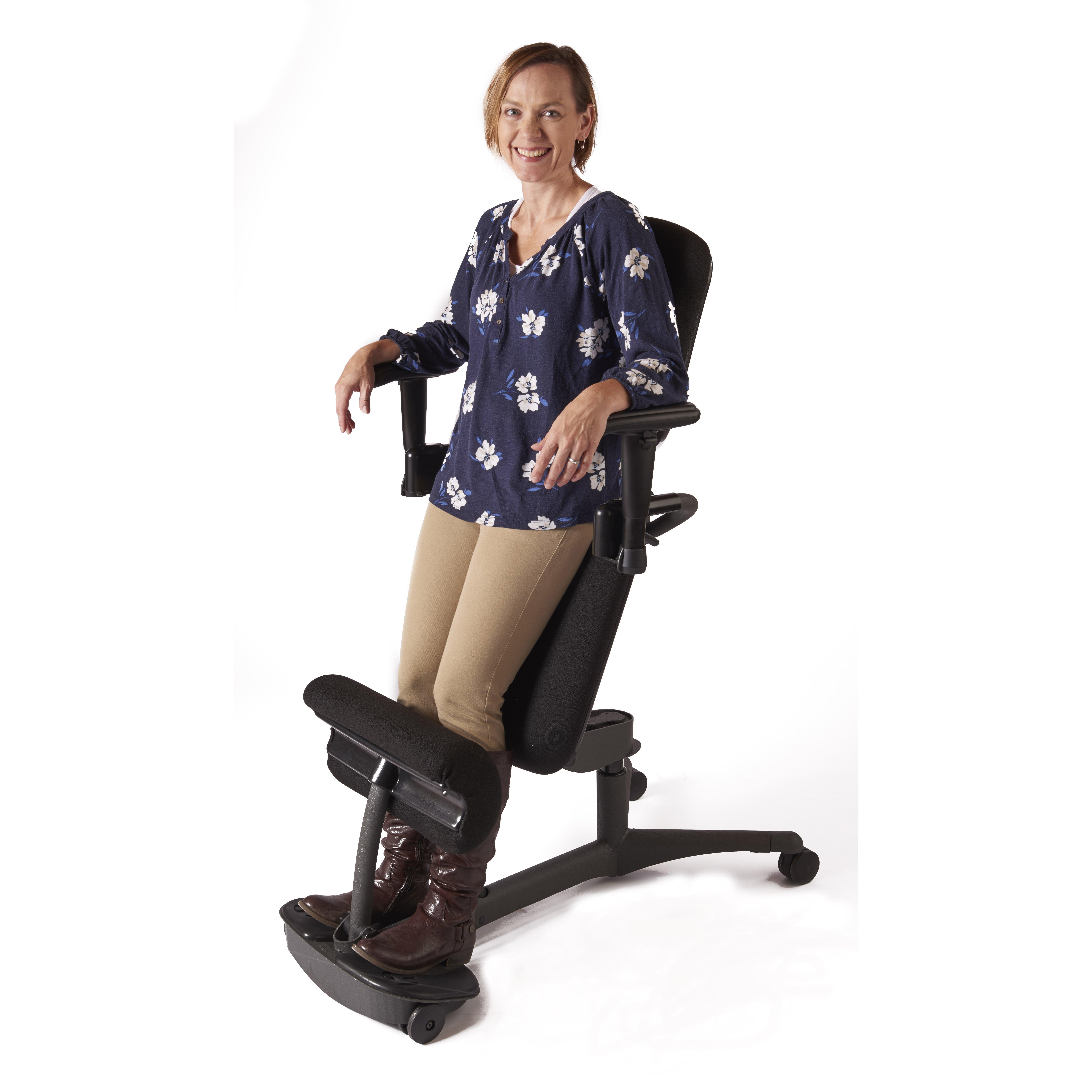 Health Postures Stance Angle Mid-Back Kneeling Chair