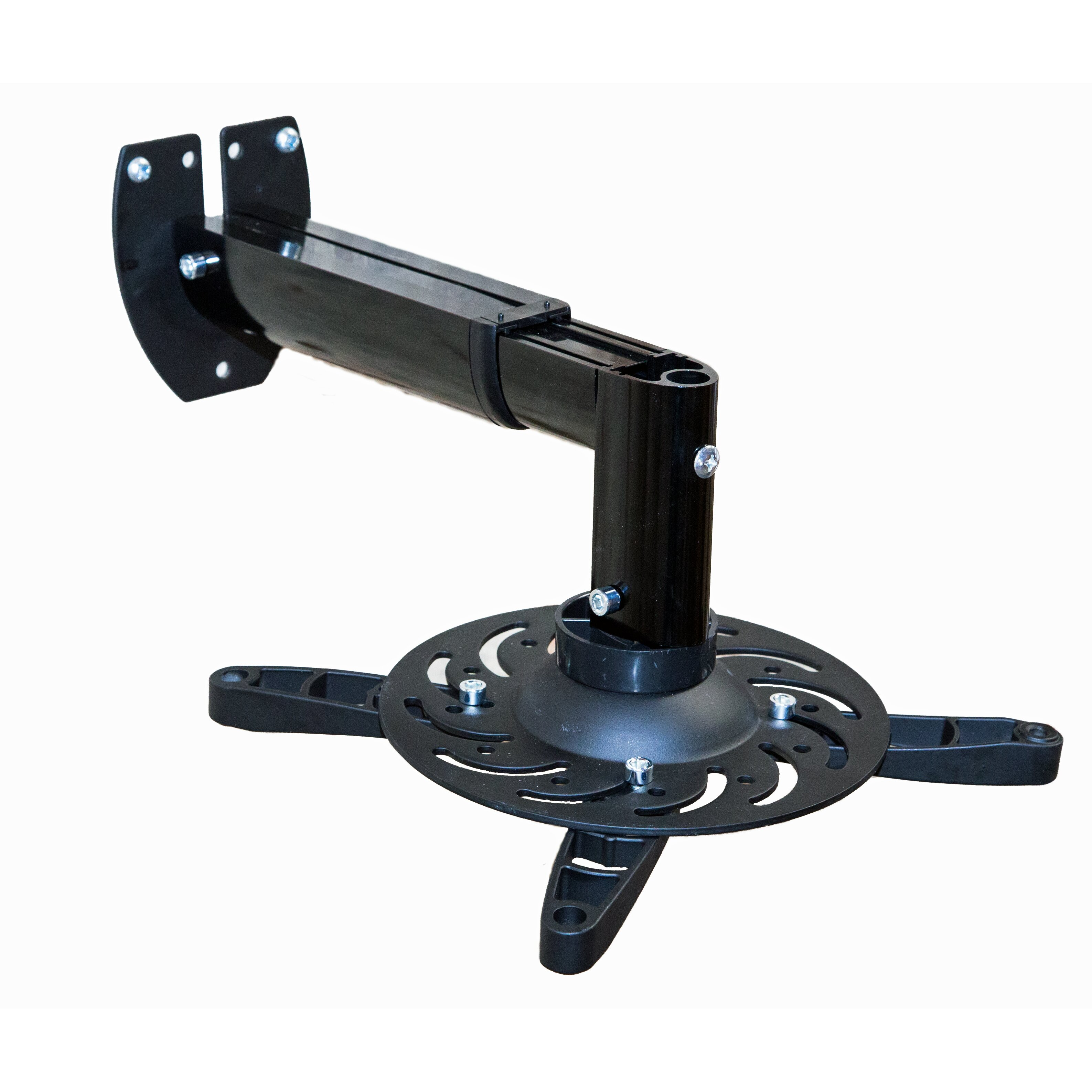 mount it extendable arm tilt swivel universal wall mount for screens wayfair. Black Bedroom Furniture Sets. Home Design Ideas