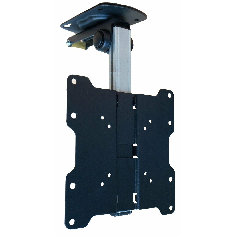 Mount It Tilt Swivel Folding Under Cabinet And Ceiling Lcd Led Tv Mount For 17 To 37 Tv