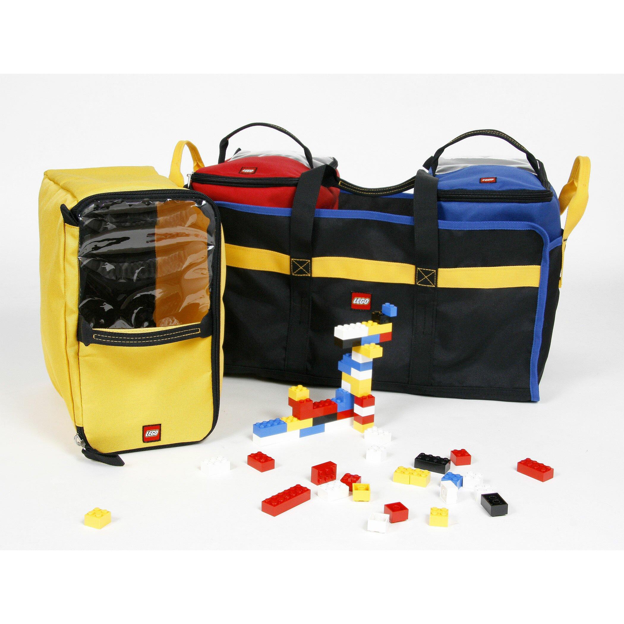 LEGO Luggage 4-Piece Toy Organizer Tote & Reviews | Wayfair