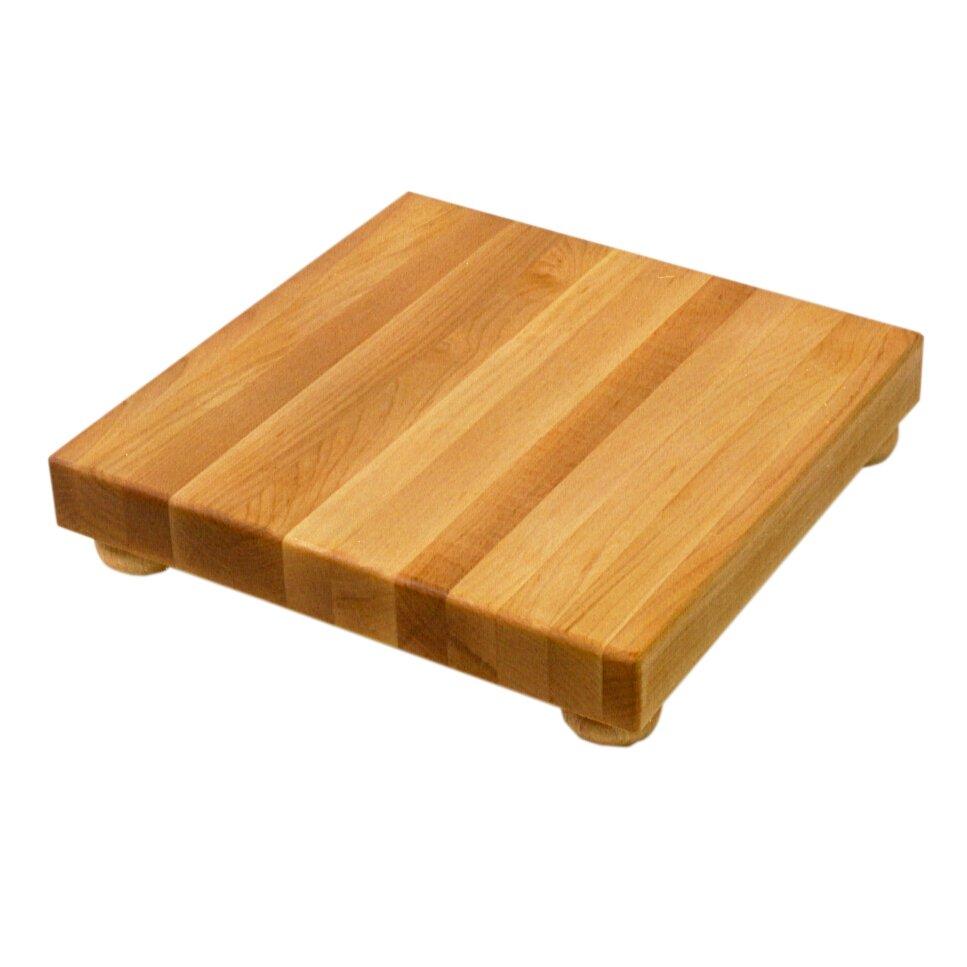 John Boos Boosblock Square Maple Cutting Board Amp Reviews
