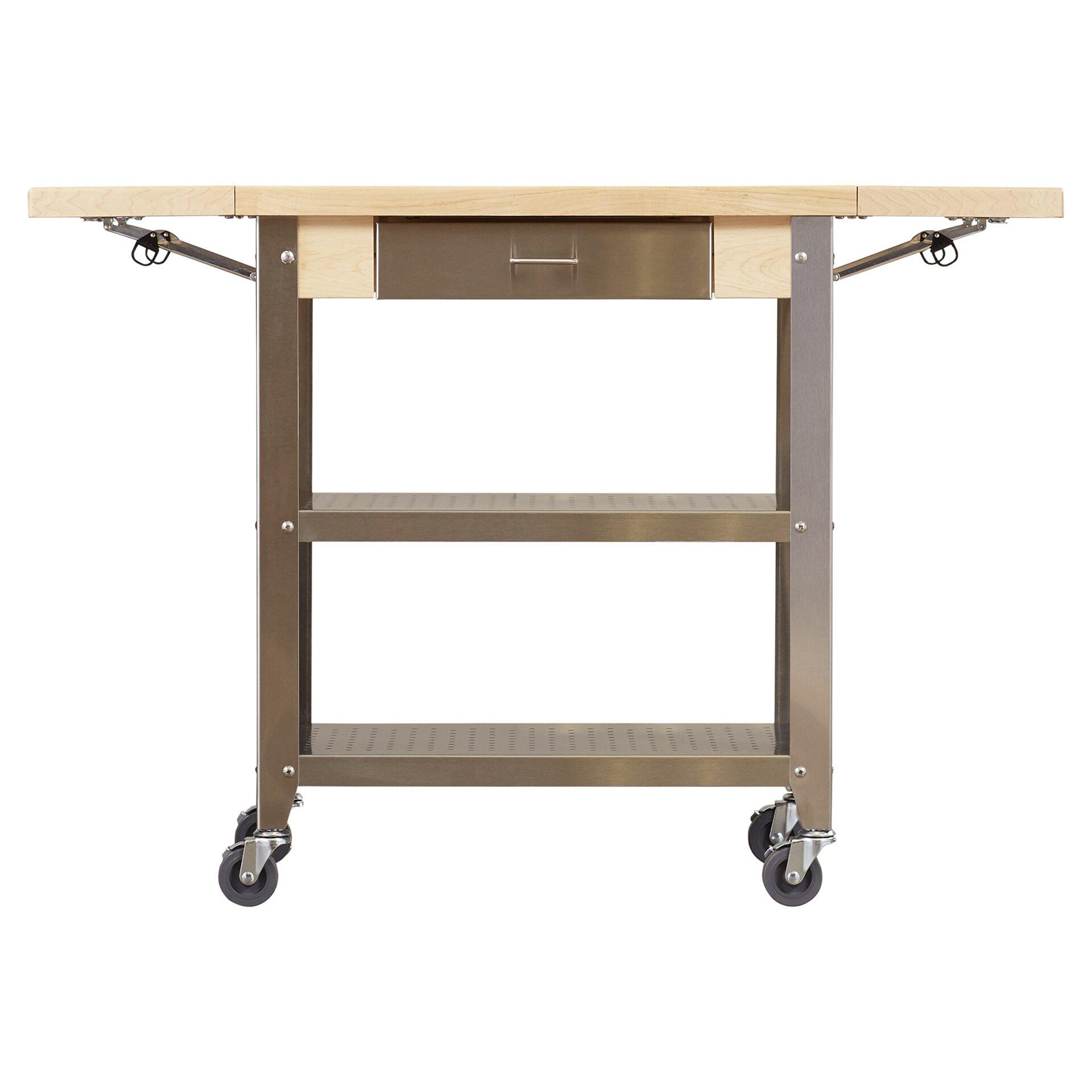 Boos Kitchen Islands Sale John Boos Cucina Americana Kitchen Cart With Wood Top