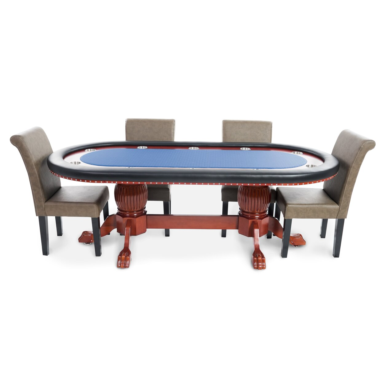 BBO Poker Rockwell 8 Piece Poker Dining Table Set with  : BBO Poker Rockwell 8 Piece Poker Dining Table Set with Lounge Chairs RWPRPACK6 from www.wayfair.com size 1250 x 1250 jpeg 120kB
