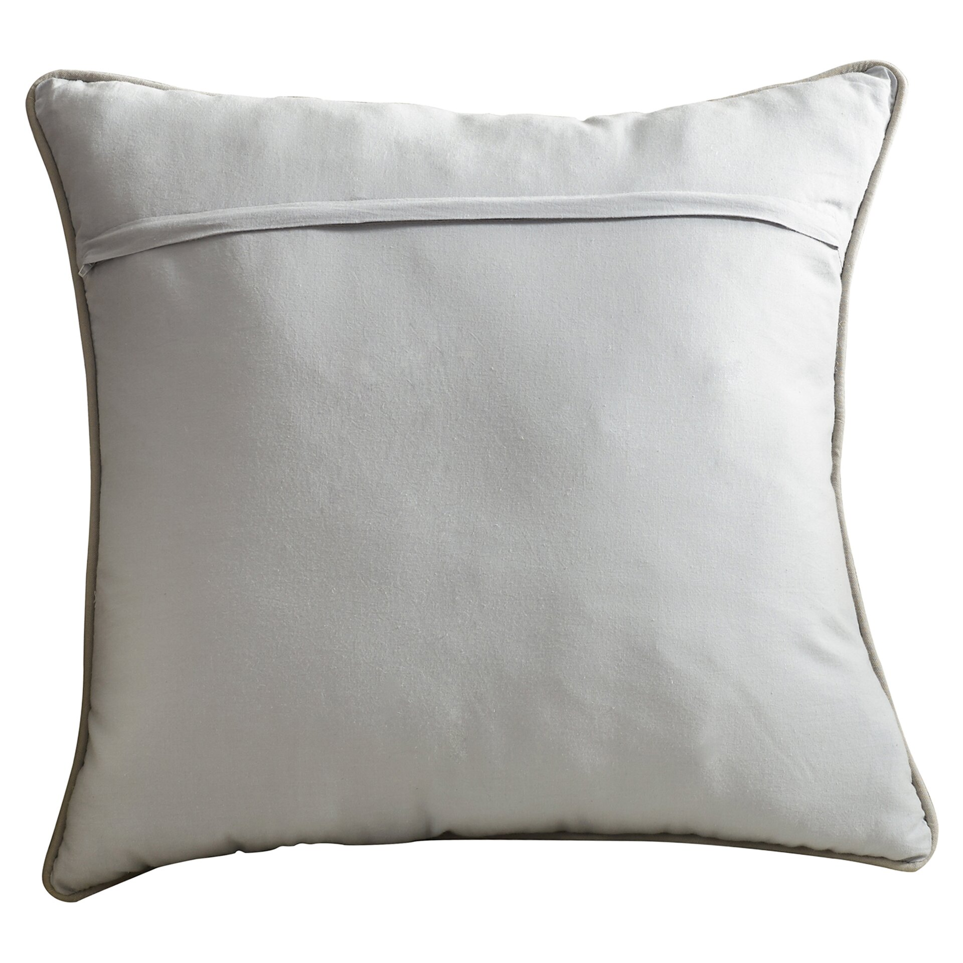 Alcott Hill Warrensville Cotton Linen Throw Pillow & Reviews Wayfair