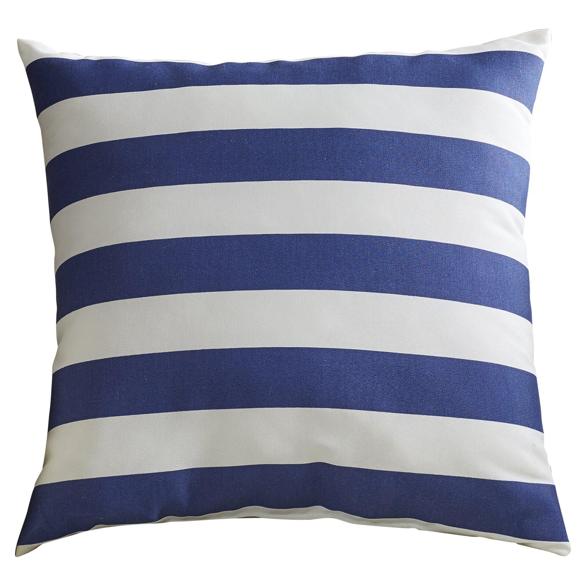 pillows Striped throw