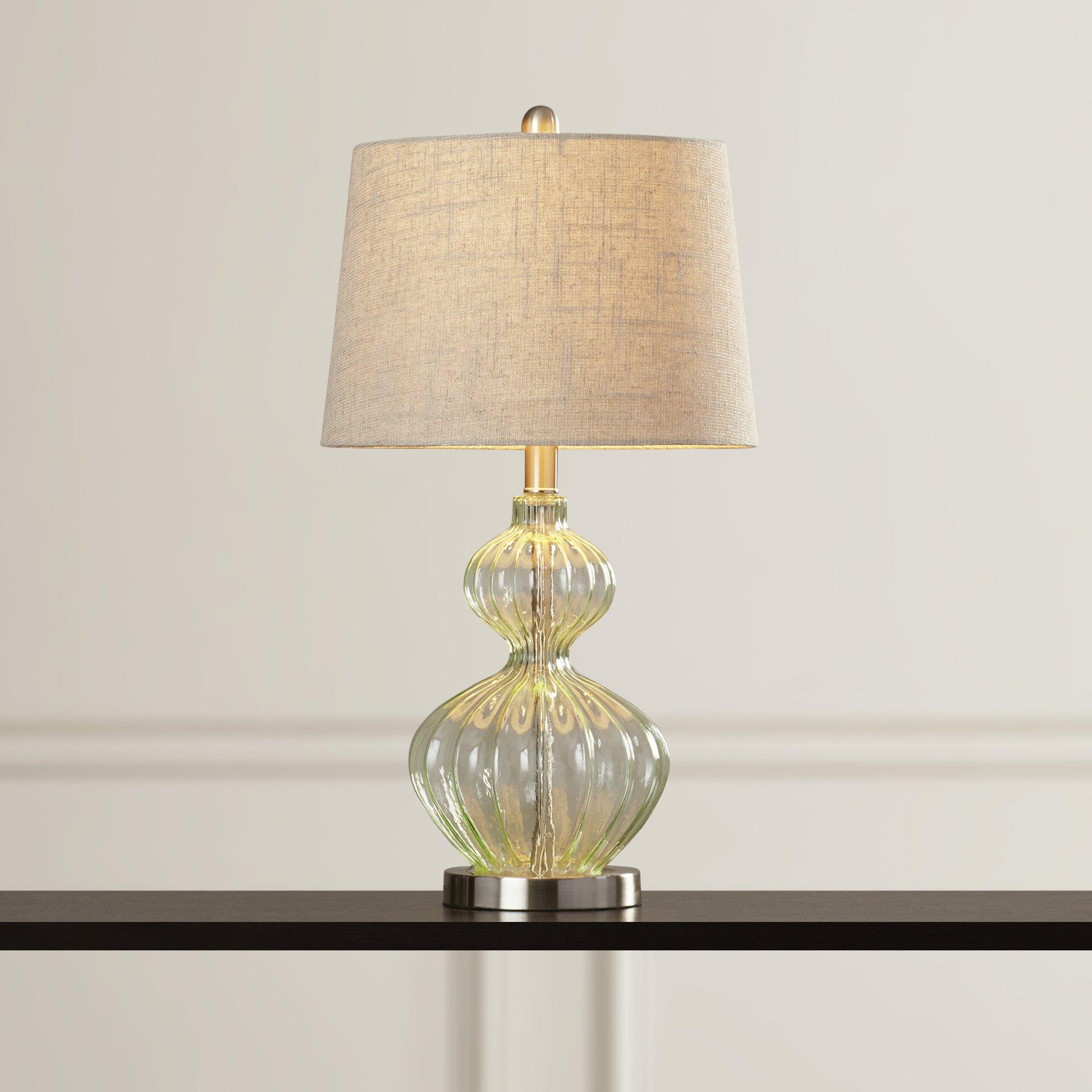 alcott hill kawaii 25 h table lamp reviews wayfair. Black Bedroom Furniture Sets. Home Design Ideas