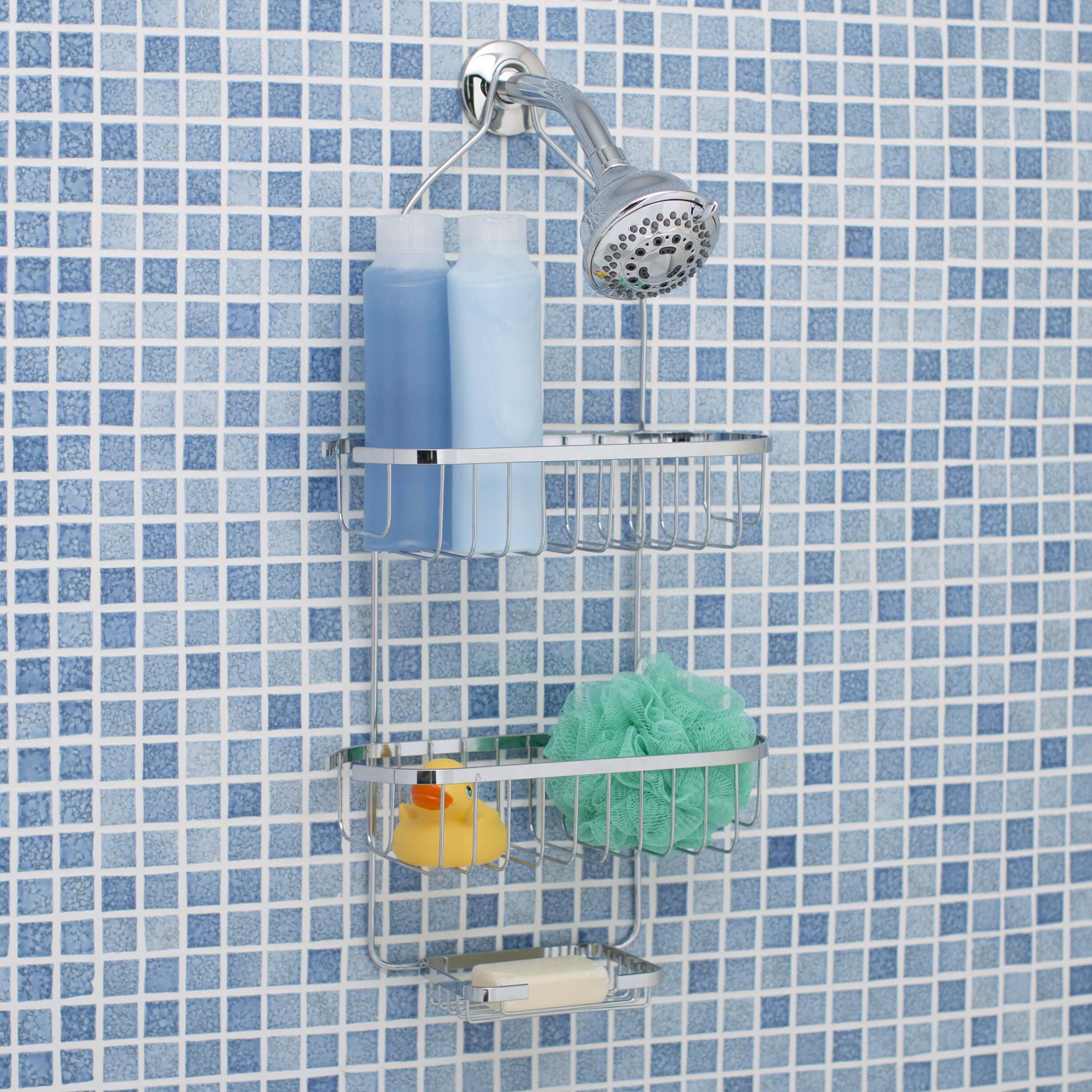 Fine Shower Caddy Reviews Photos - Bathtub Ideas - dilata.info