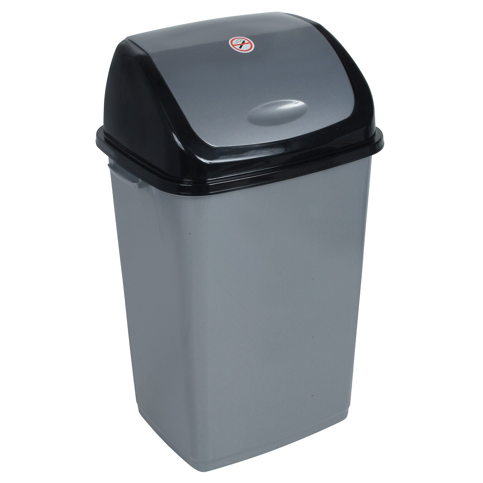 superior performance 13 gallon swing top plastic trash can reviews. Black Bedroom Furniture Sets. Home Design Ideas