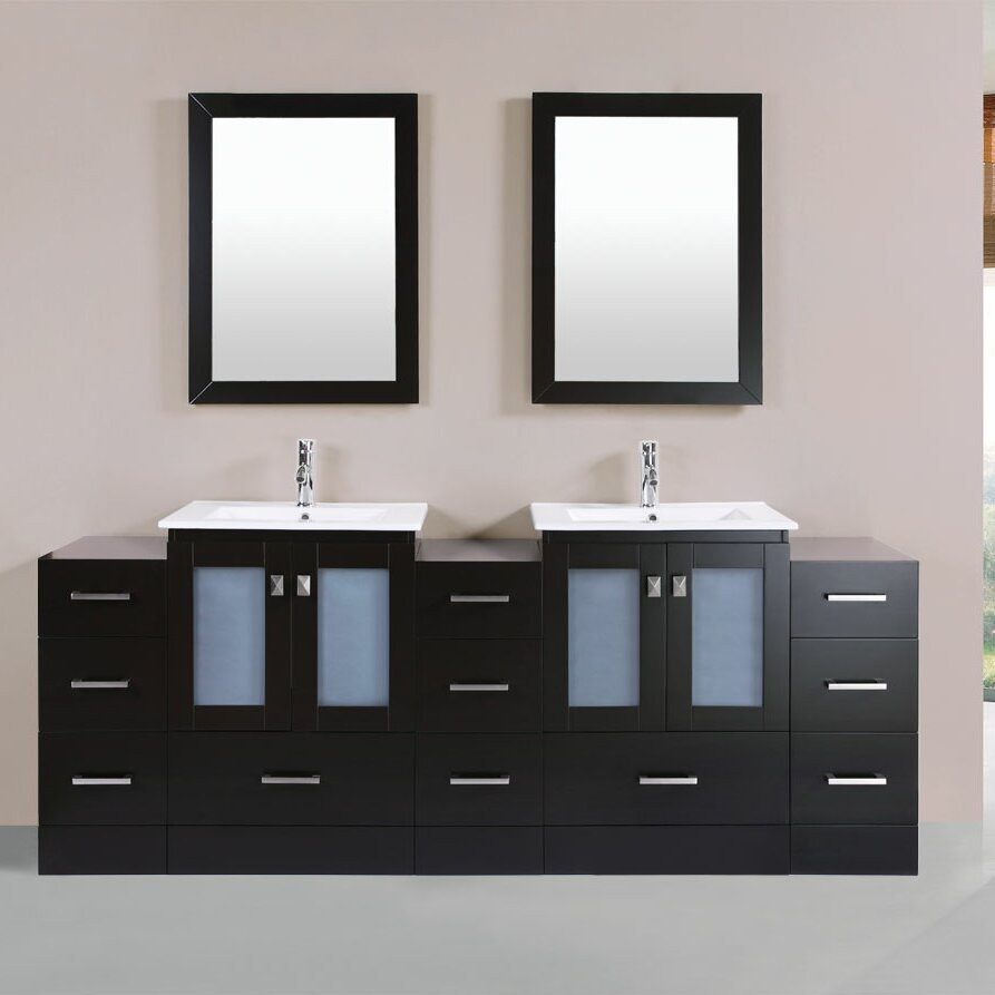 Pacificcollection Hermosa 84 Quot Double Modern Bathroom 3