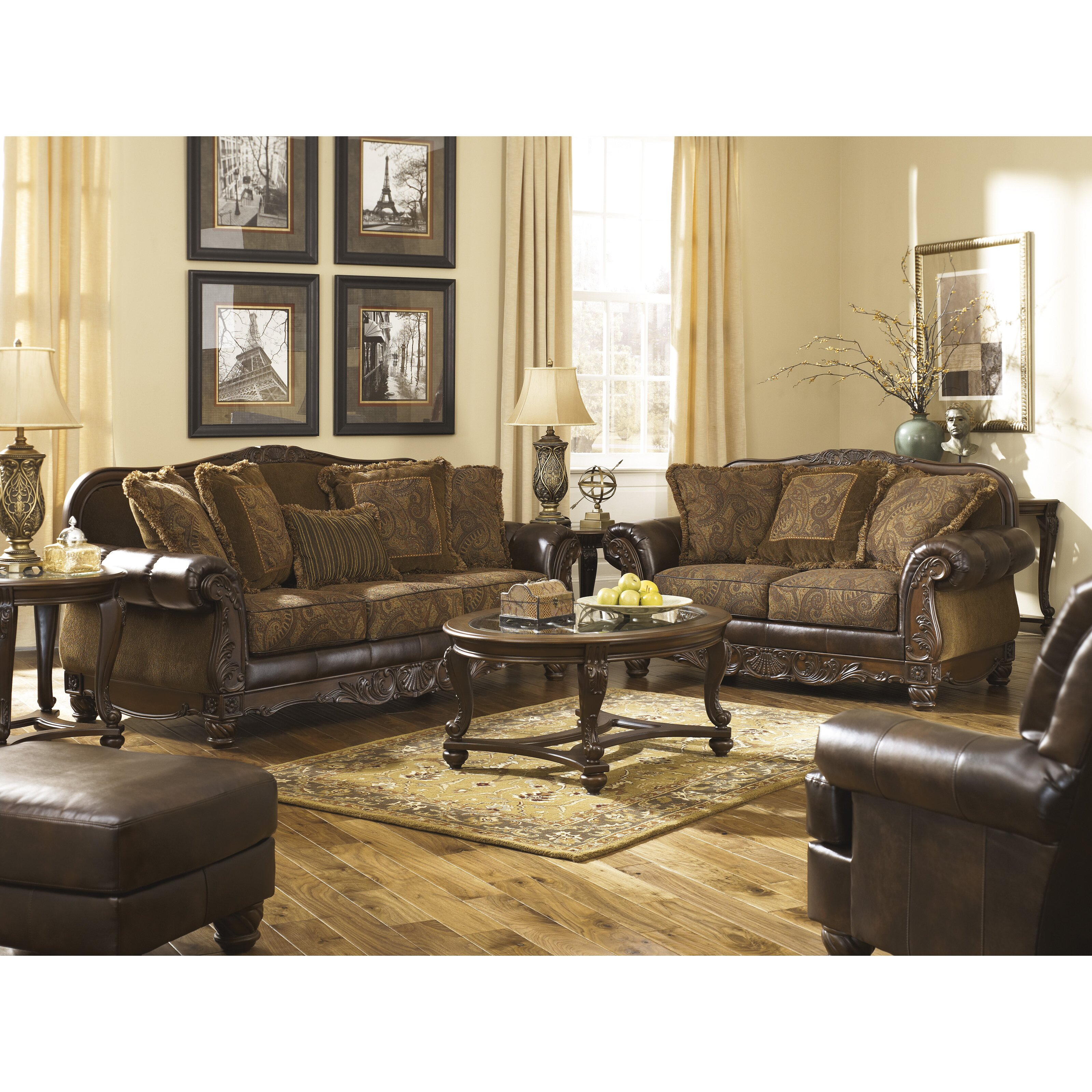 Signature Design By Ashley Newbern Living Room Collection Reviews Wayfair