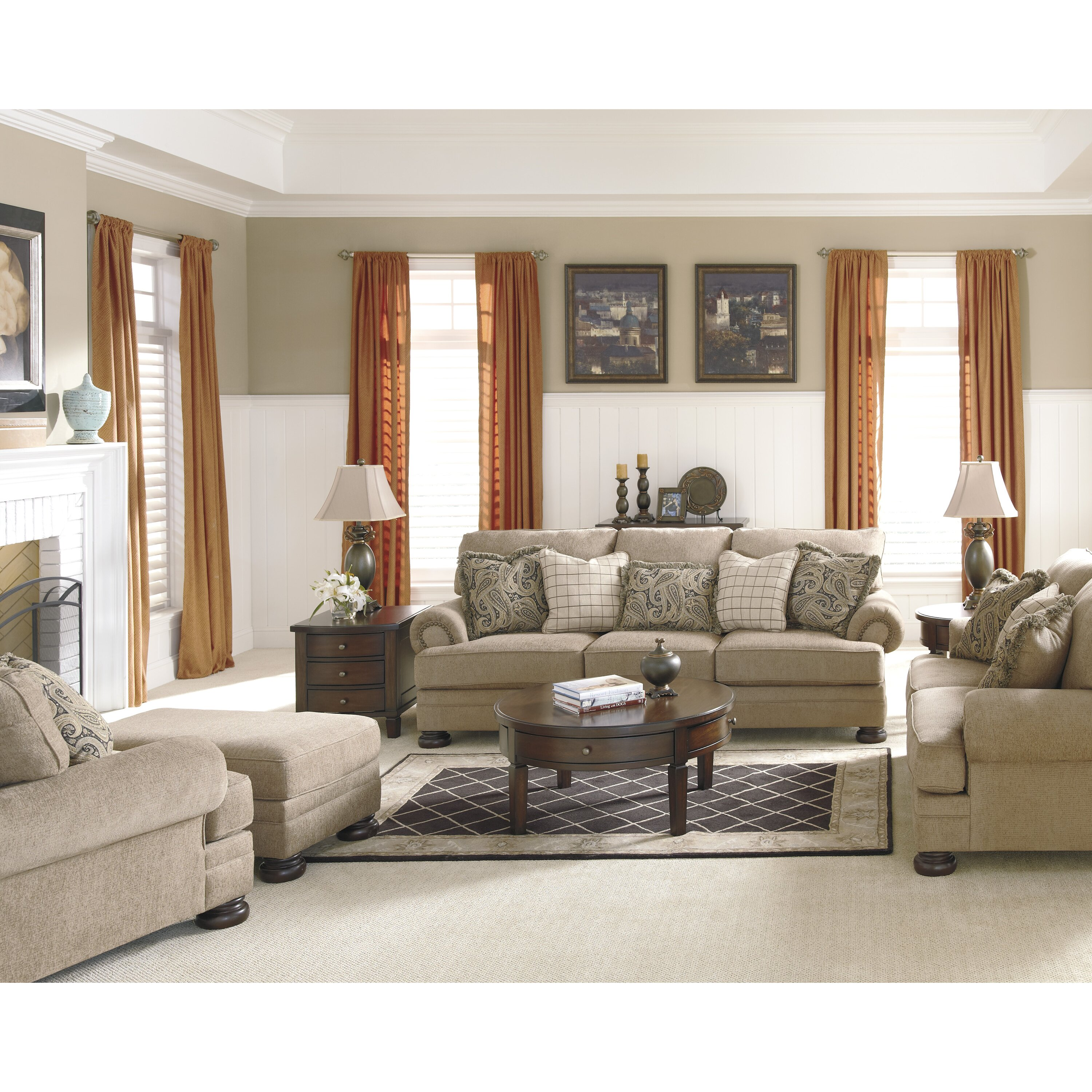 Signature Design By Ashley Dozier Living Room Collection Reviews Wayfair