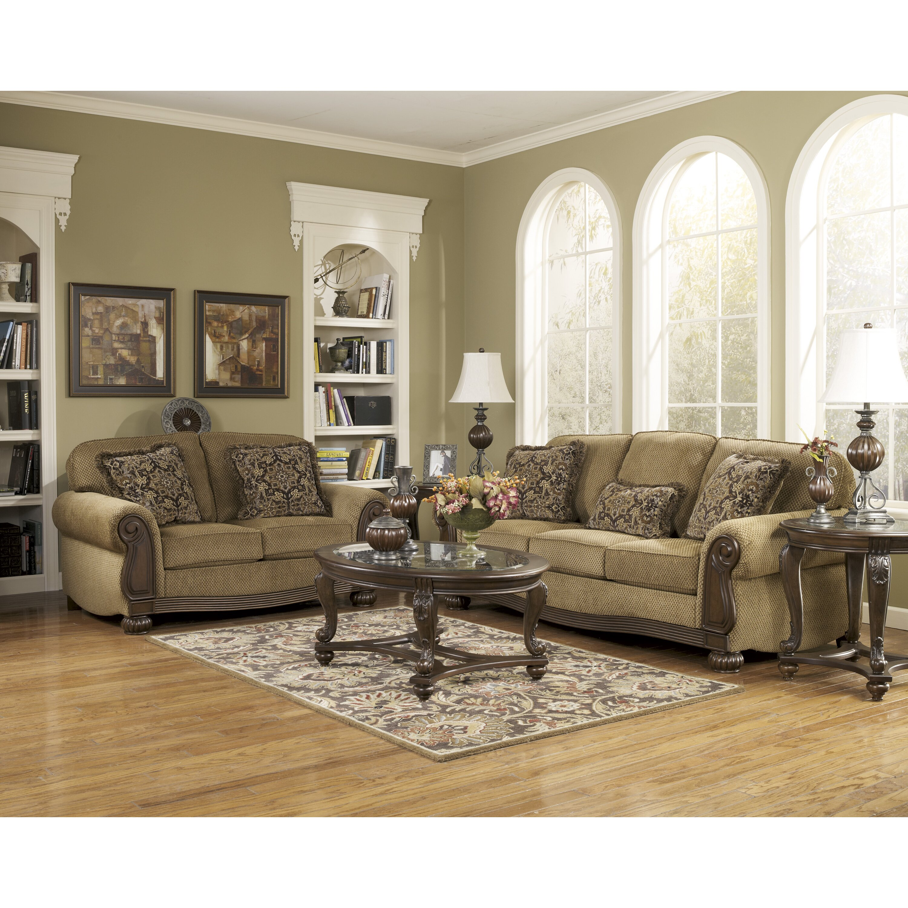 Ashley Furniture Living Room: Signature Design By Ashley Taylor Sofa & Reviews
