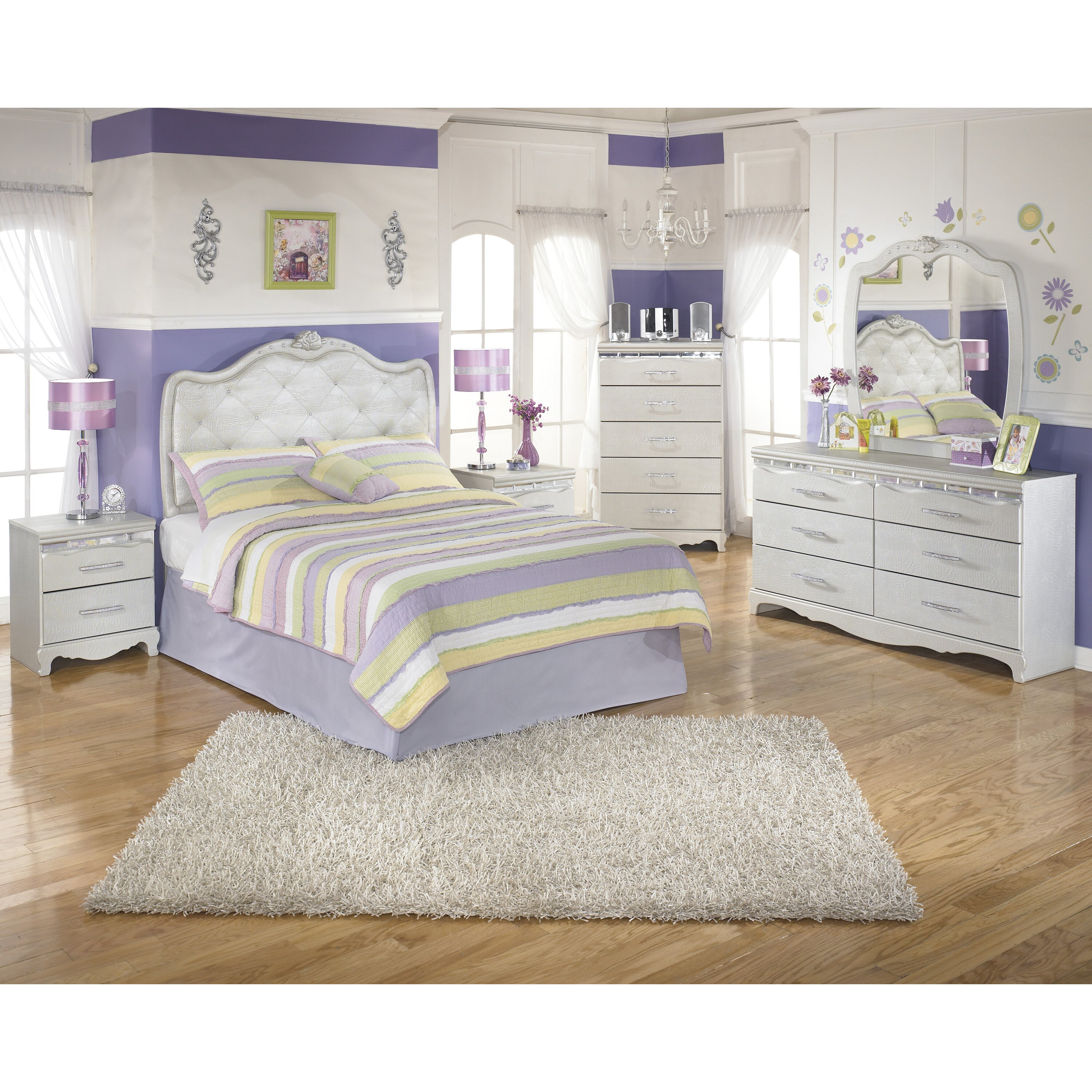 Signature Design By Ashley Zarollina Panel Customizable Bedroom Set Reviews