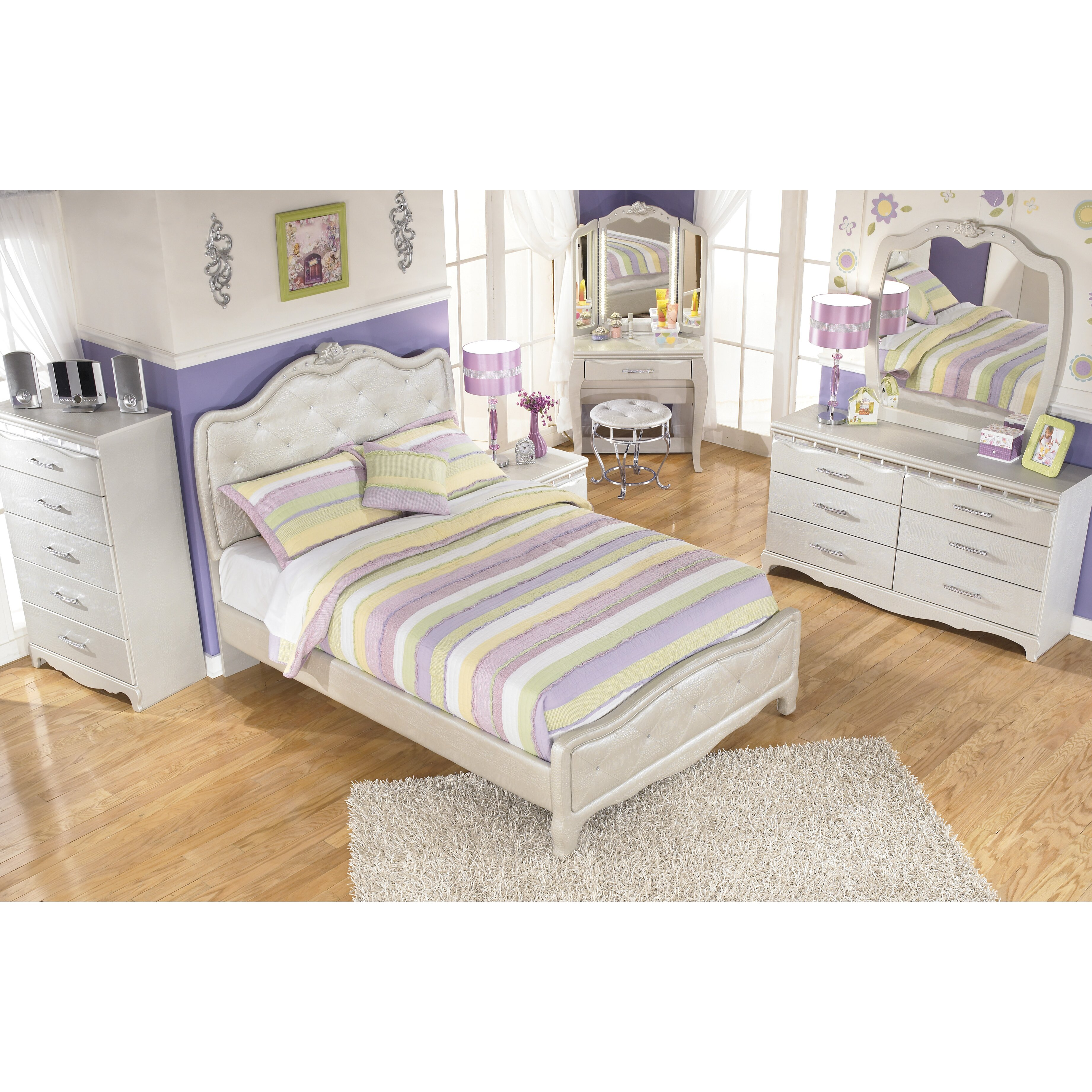 Signature Design By Ashley Zarollina Panel Bed Amp Reviews