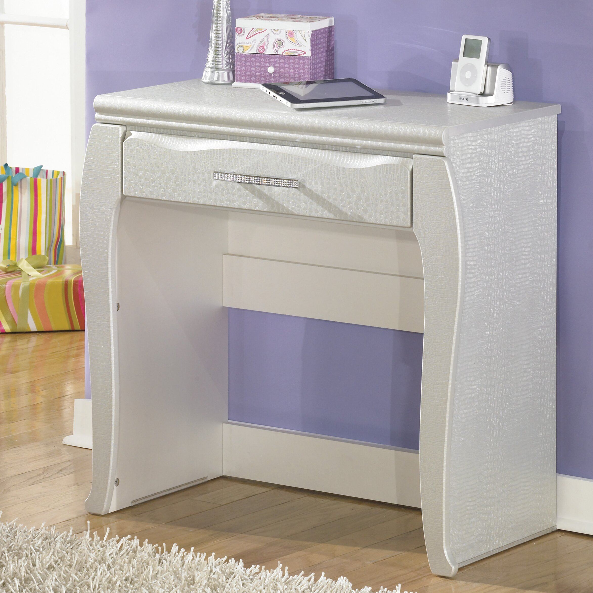 Signature Design By Ashley Zarollina Vanity Reviews Wayfair