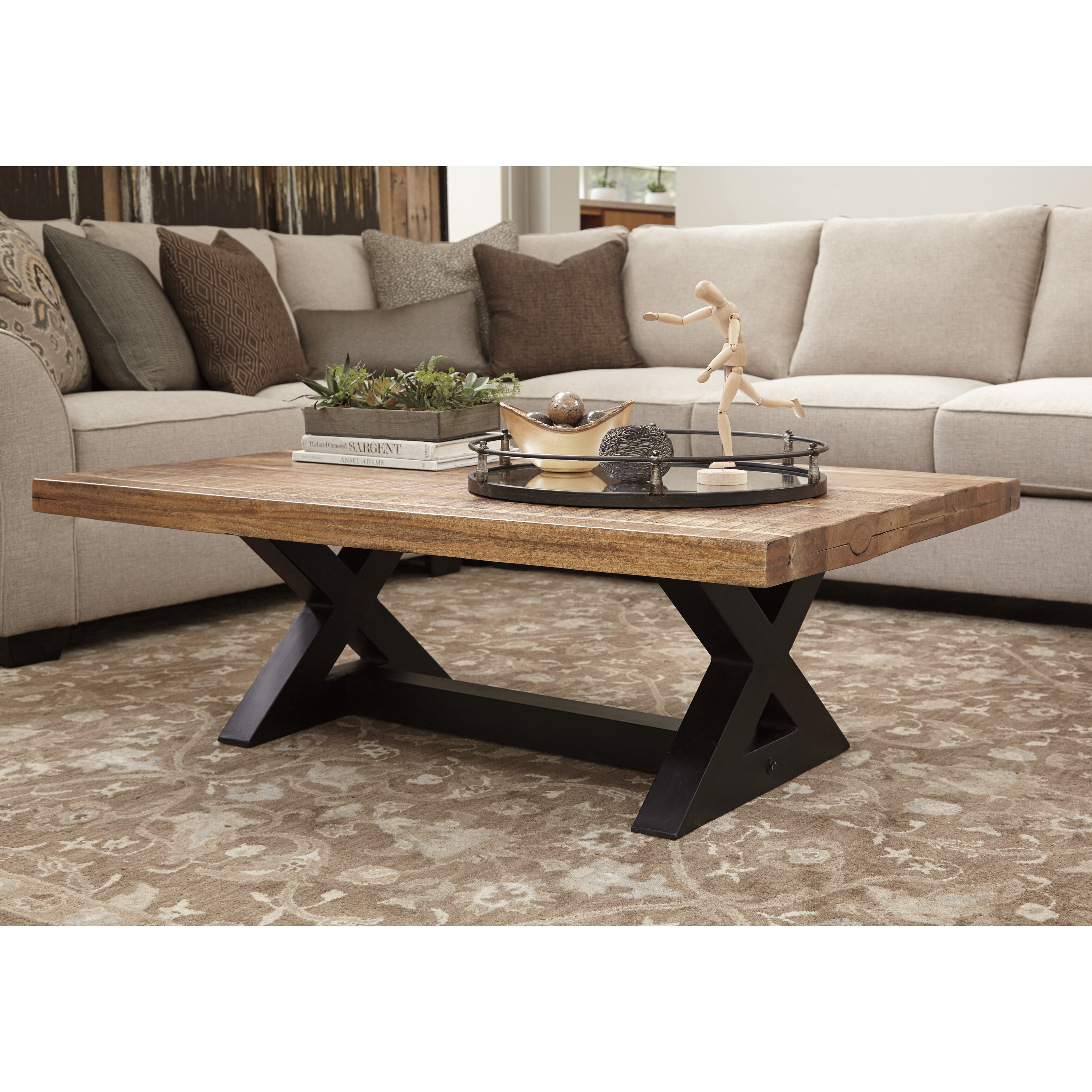 Signature Design By Ashley Wesling Coffee Table amp Reviews