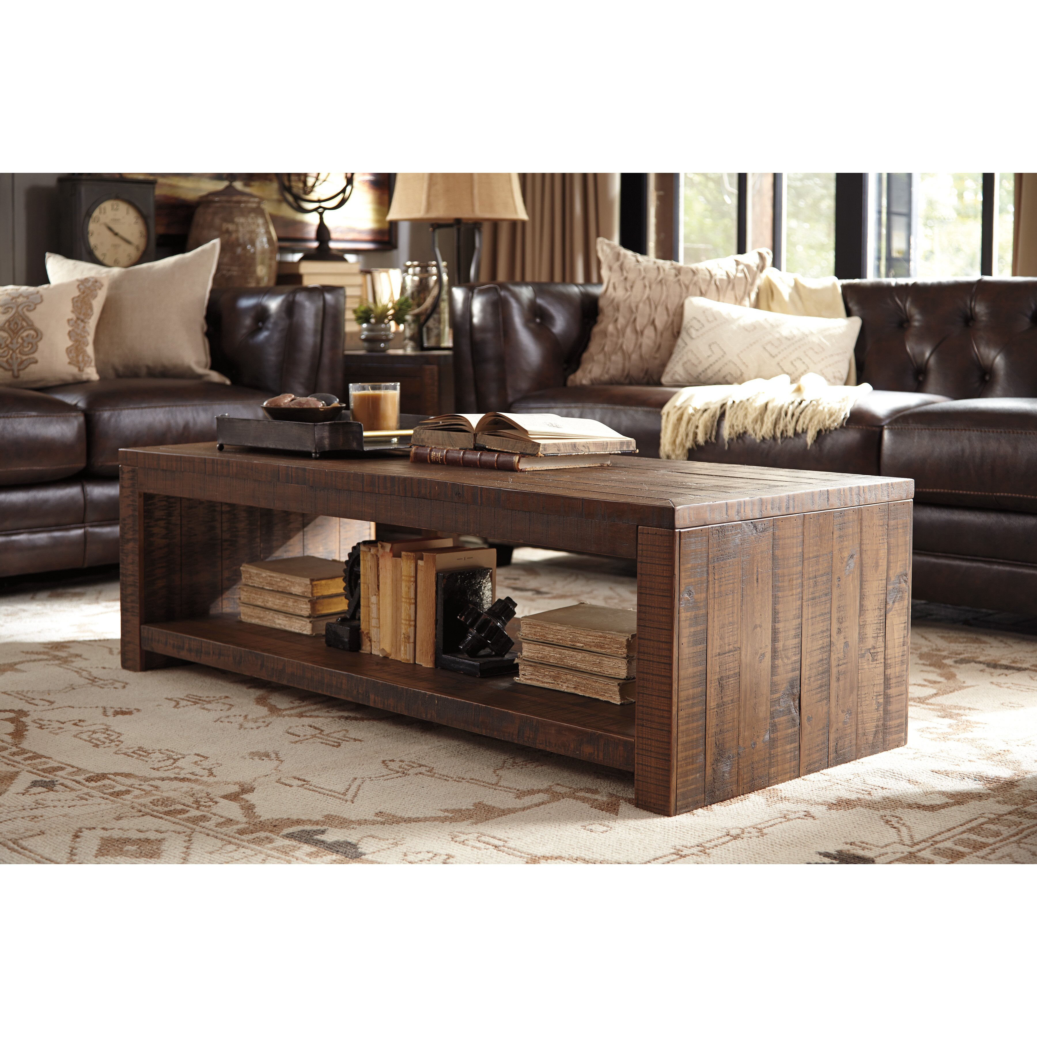 Signature Design By Ashley Larroni Coffee Table Wayfair