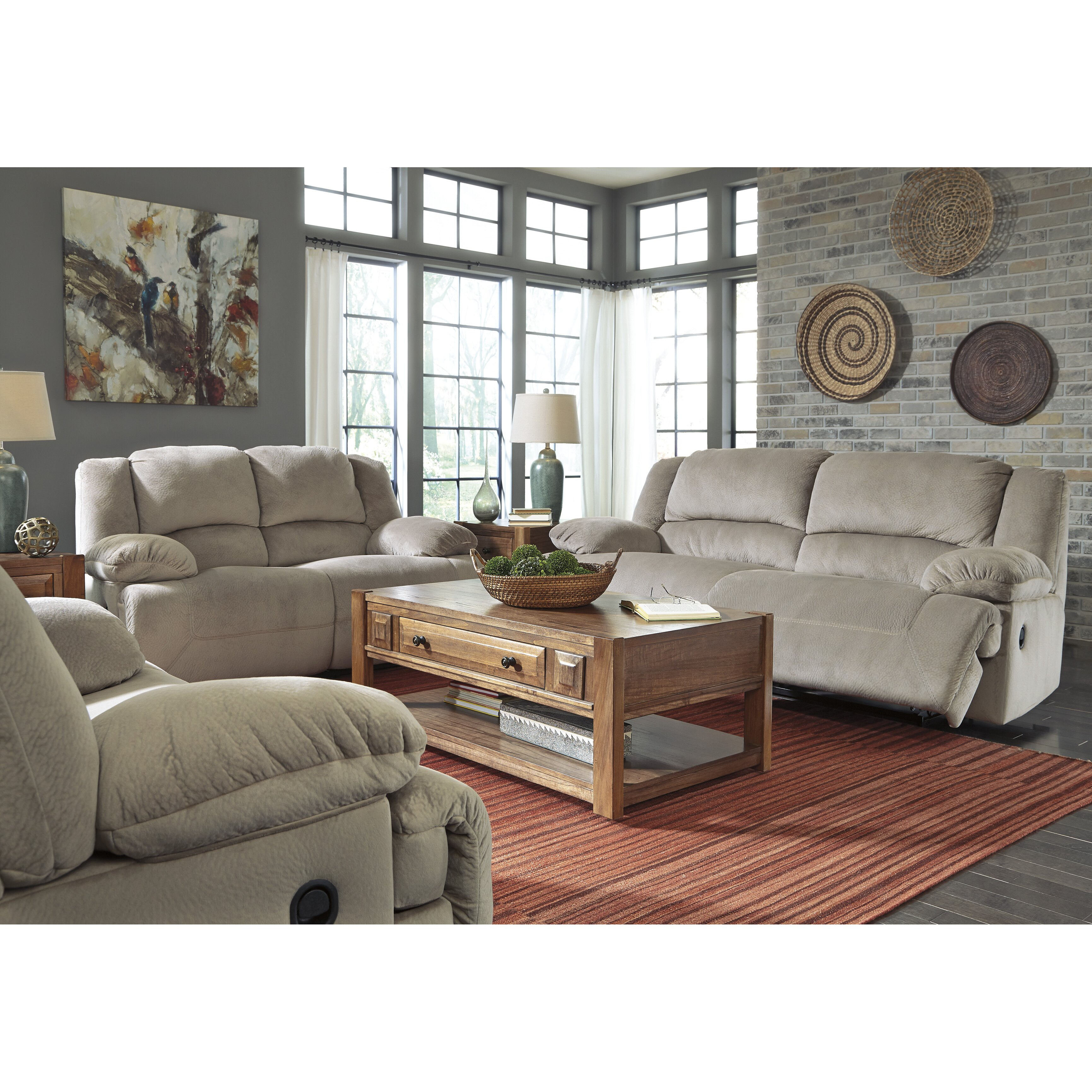 Signature Design By Ashley Tolette 2 Seat Reclining Sofa Reviews