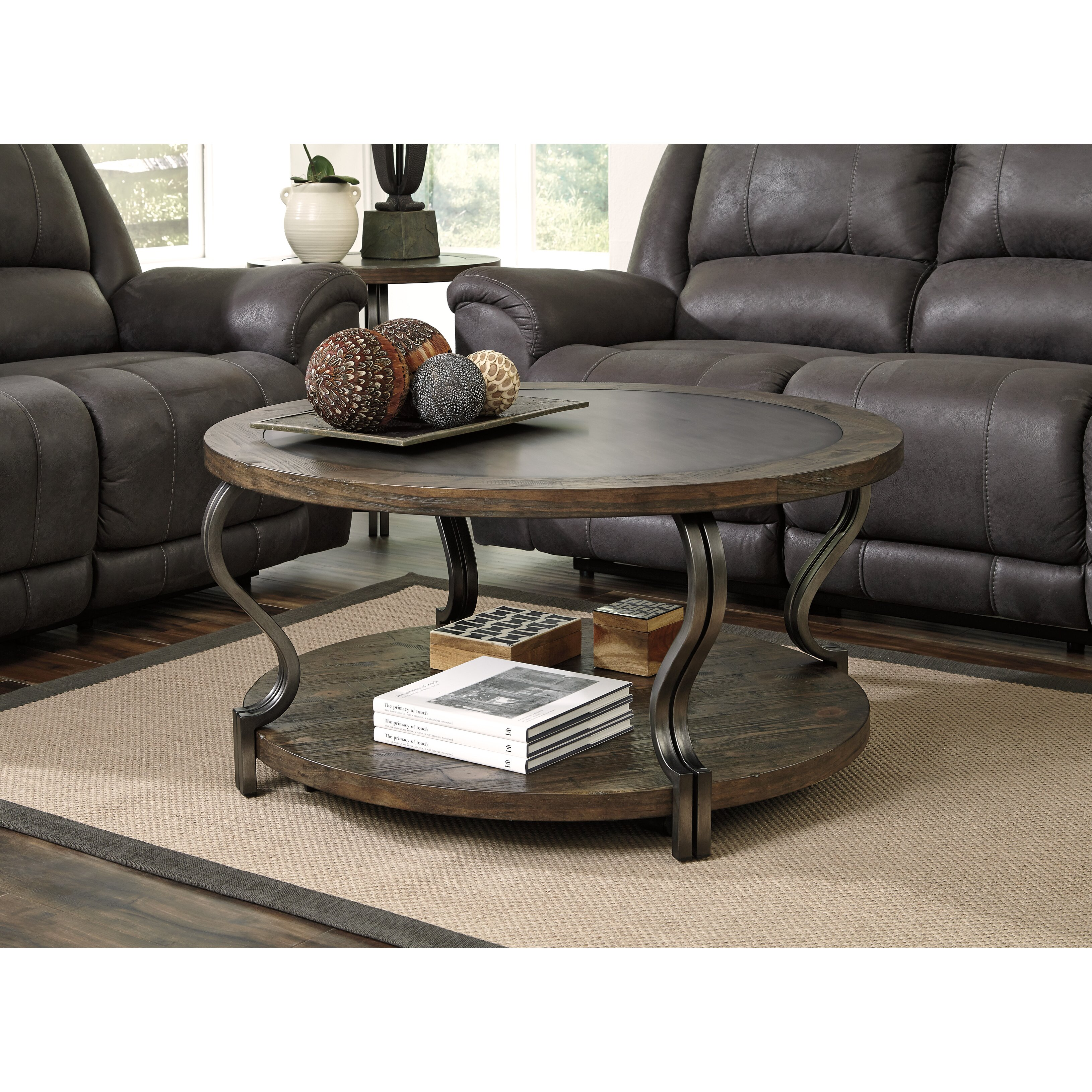 Signature Design by Ashley Volanta Coffee Table & Reviews ...