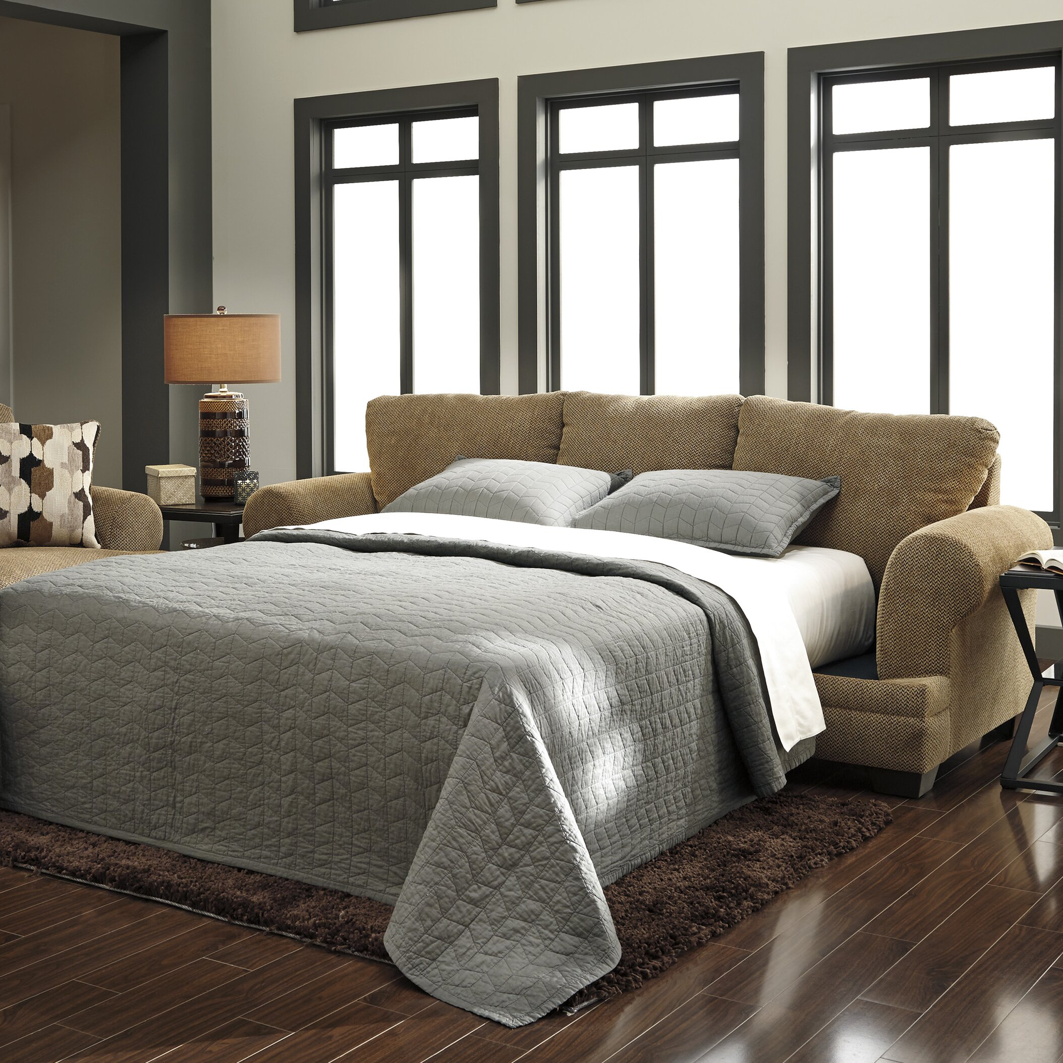 Signature Design by Ashley Queen Sleeper Sofa & Reviews ...